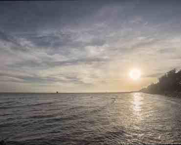 Sunset CanGio Beach