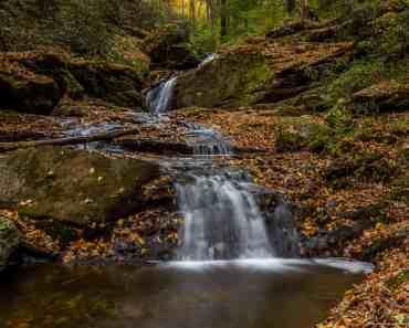 Autumn at Mill Creek Falls