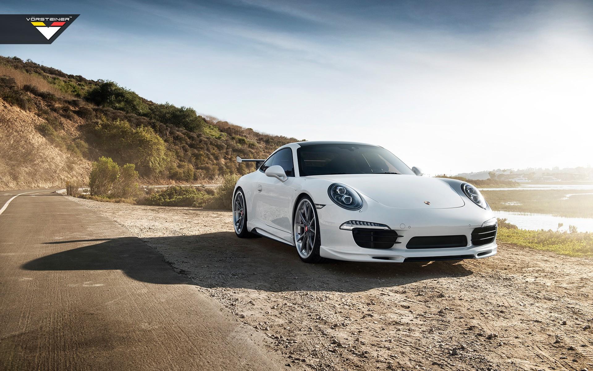 2016 Porsche 991 Carrera S Vorsteiner V Gt Aero Program Wallpapers