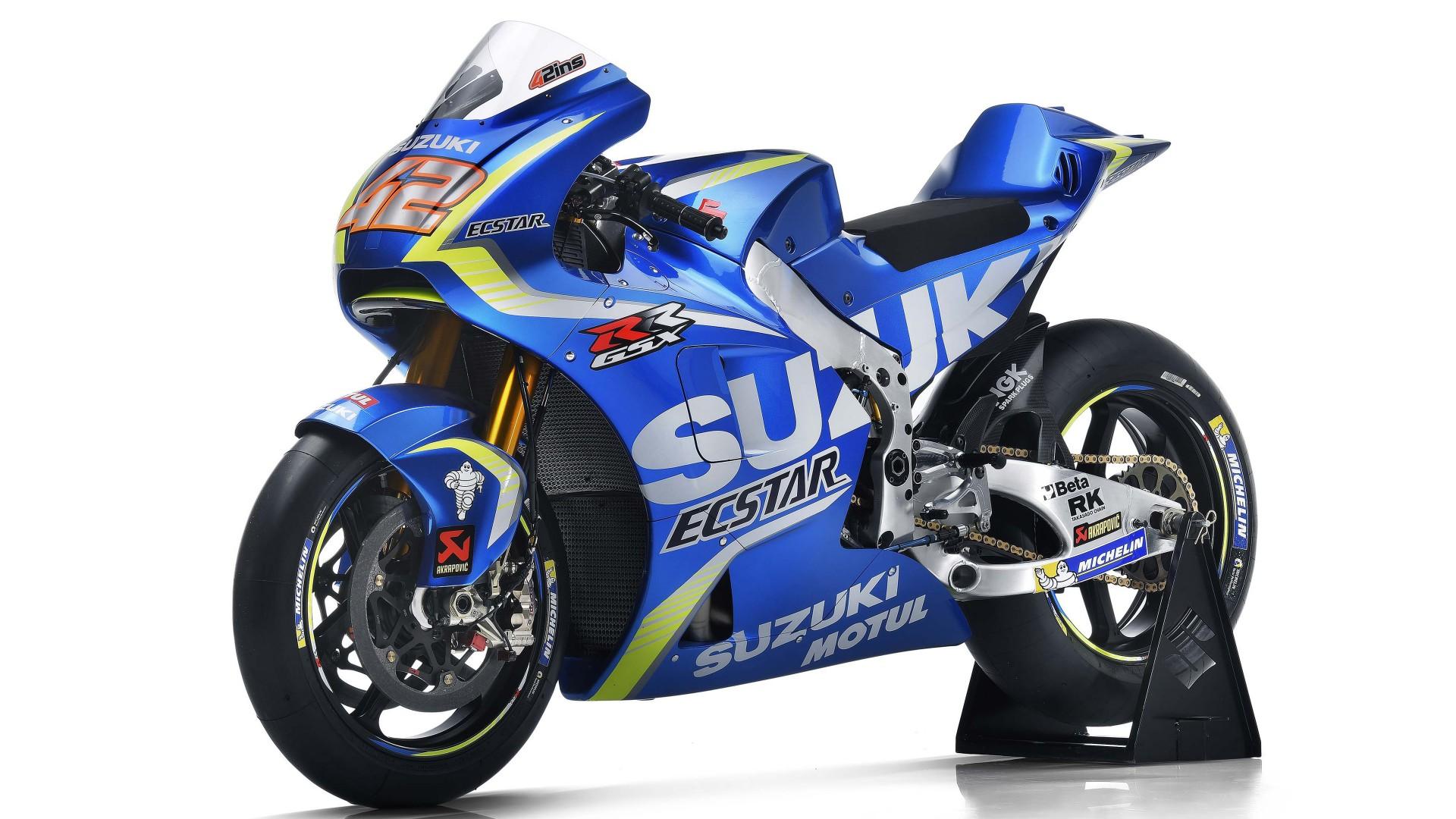 Hd Motorcycle Wallpaper Widescreen 2017 Ecstar Suzuki Team Motogp Bike Wallpapers Hd
