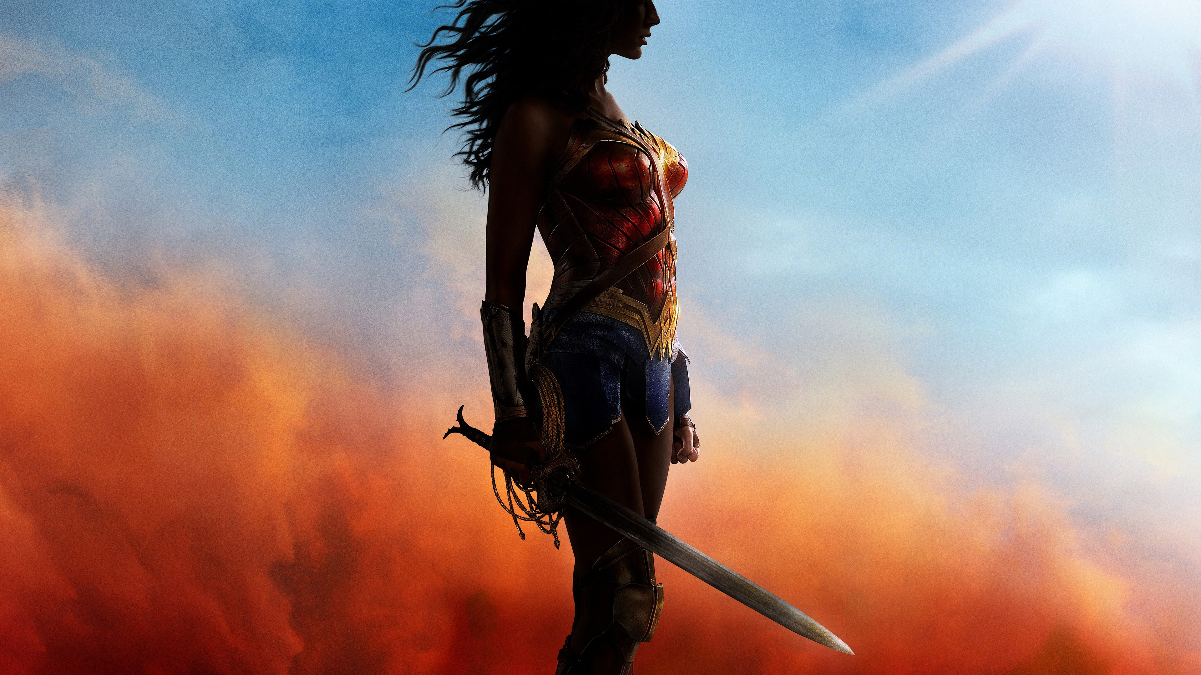 Wonder Woman Wallpaper Iphone 2017 Wonder Woman Wallpapers Hd Wallpapers Id 18453