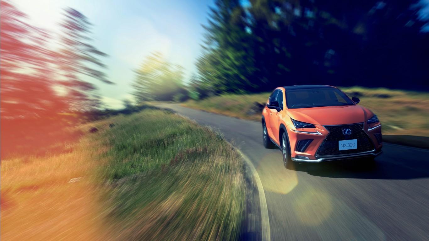 2018 Lexus NX 300 F Sport 4K Wallpapers HD Wallpapers