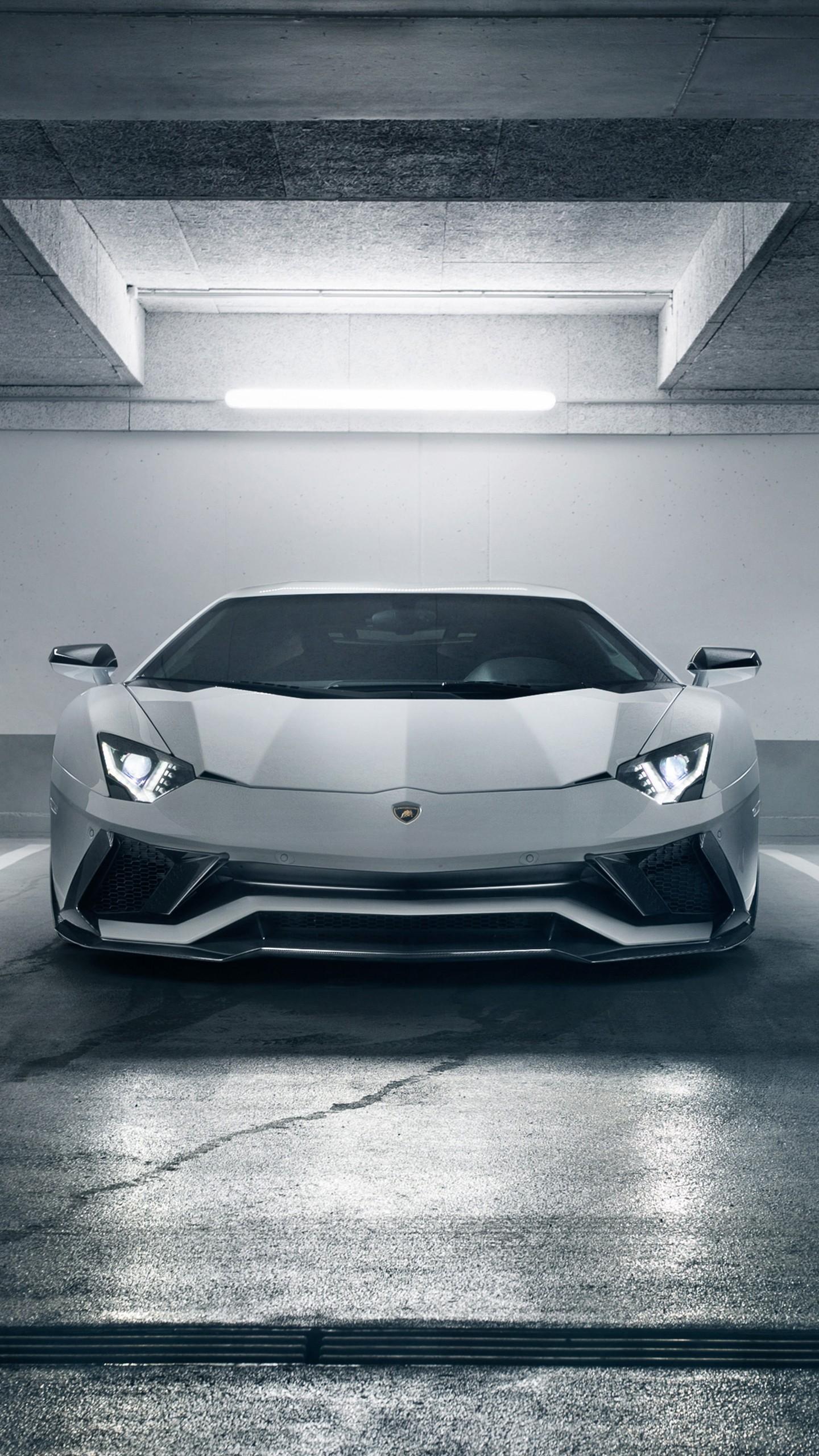 Lamborghini Aventador S 2018 4k Wallpapers