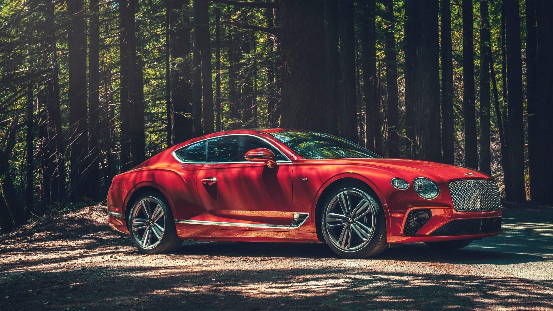 Top  Wallpapers 2020 Bentley Continental Gt V8 5k Wallpapers Hd