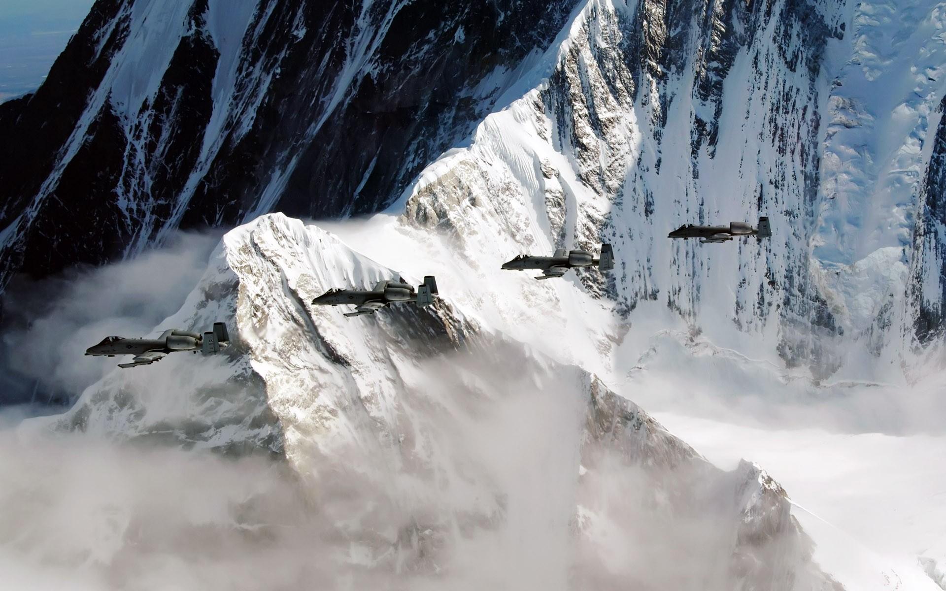A10 Wallpaper Hd A 10 Thunderbolt Iis Fly Over The Pacific Alaska