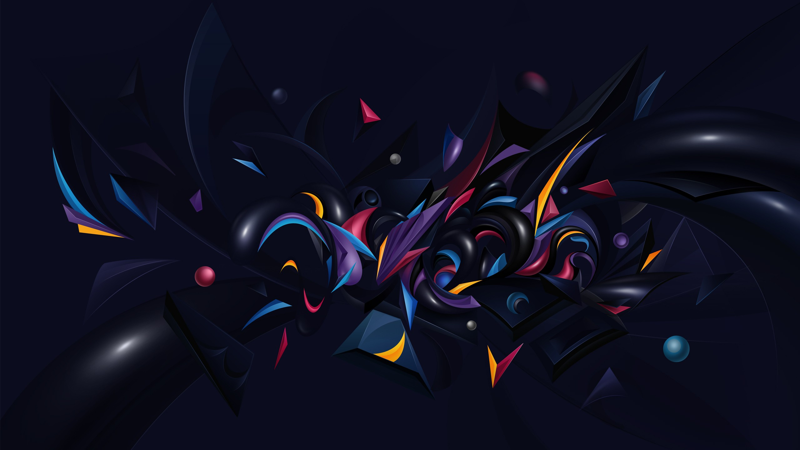 Iphone X Logo Wallpaper Abstract Chaos Wallpapers Hd Wallpapers Id 11483