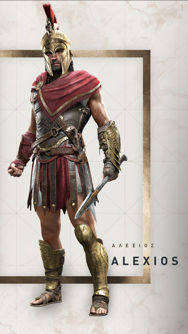 Assassins Creed Wallpaper Hd Alexios Assassin S Creed Odyssey Wallpapers Hd