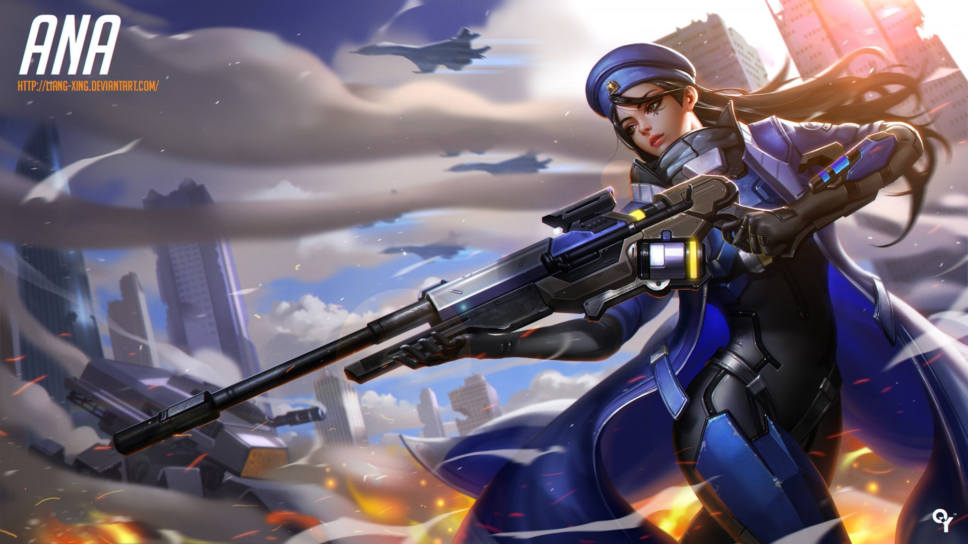 Ana Overwatch Wallpapers HD Wallpapers ID 18458