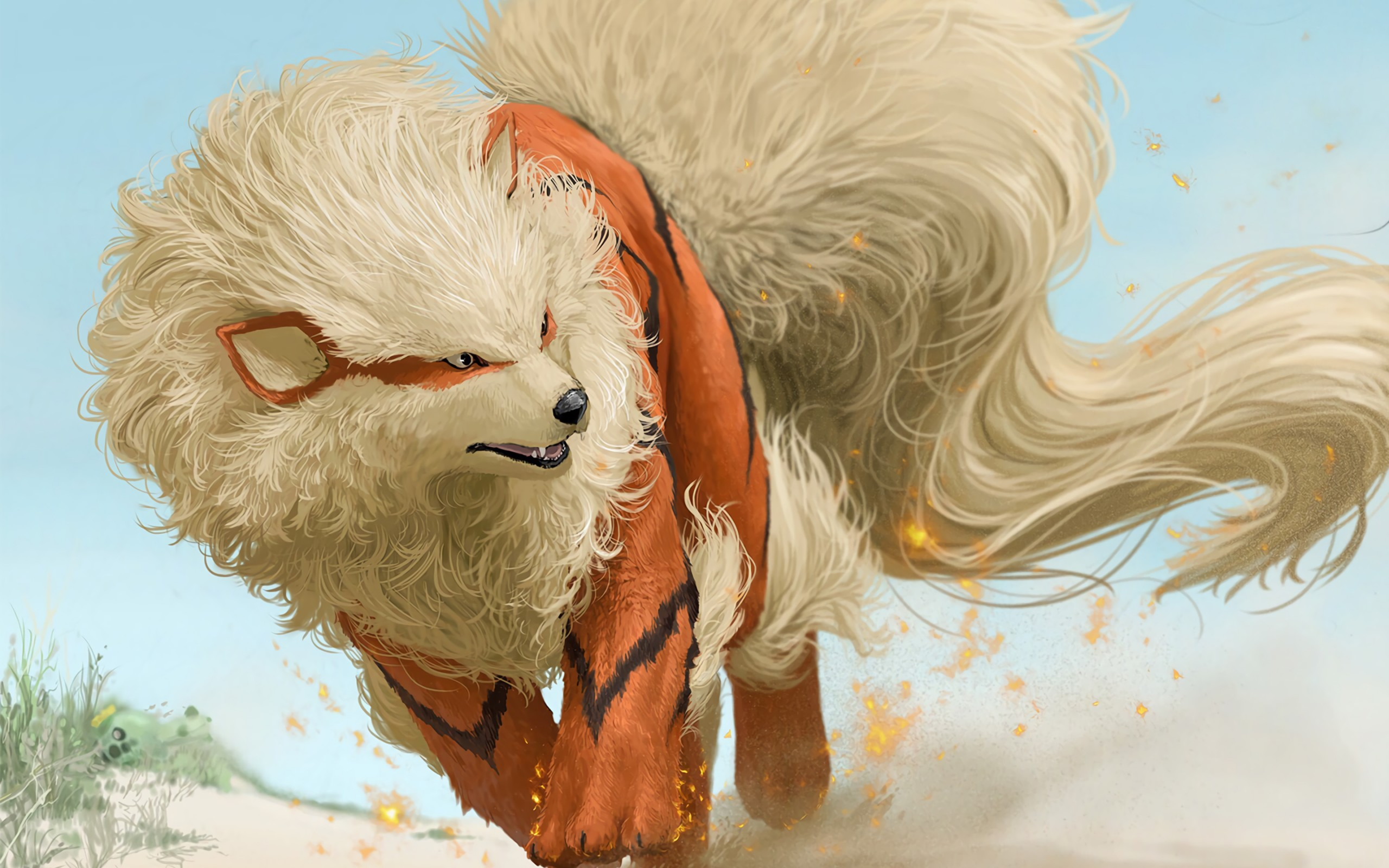 Cute Pokemon Iphone Wallpapers Arcanine Pokemon Wallpapers Hd Wallpapers Id 19816