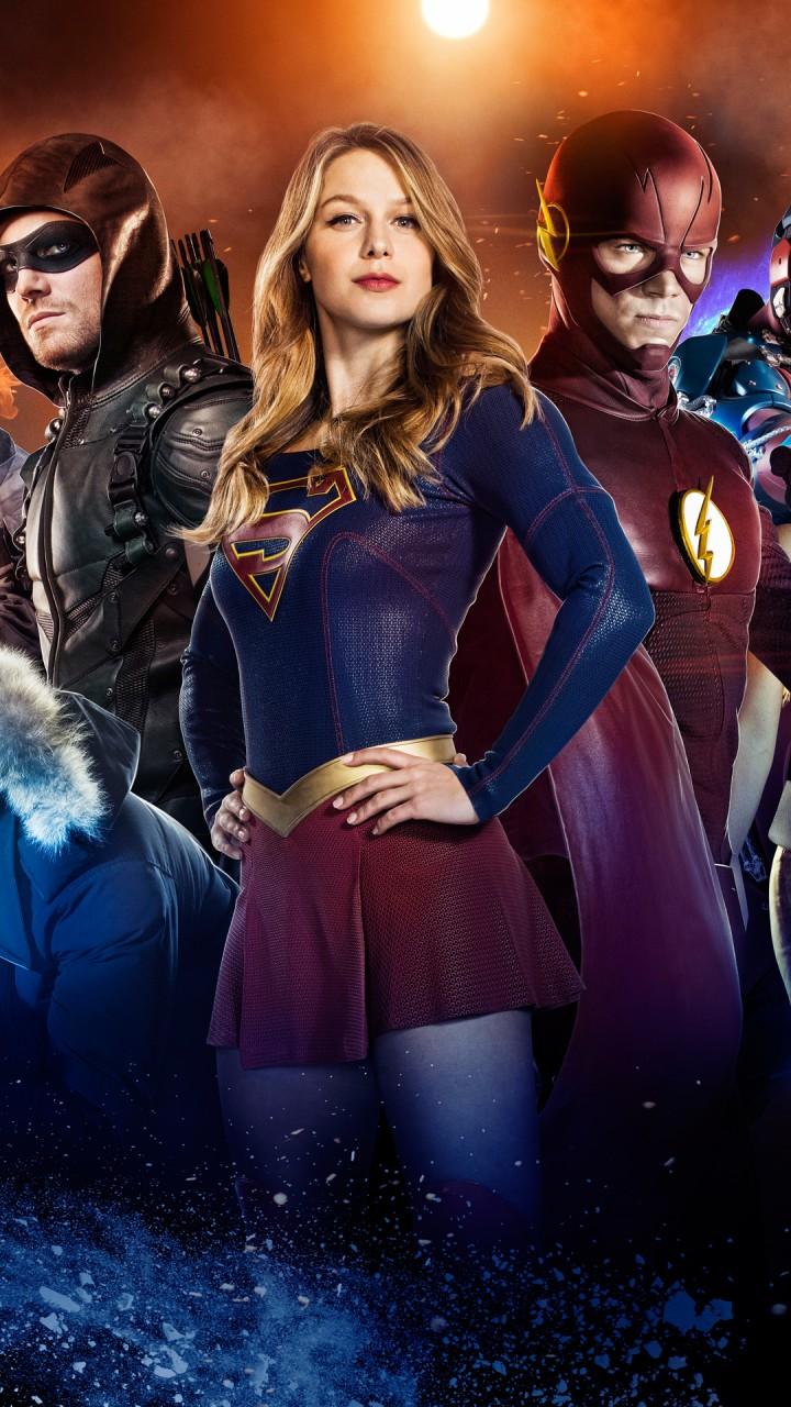 Arrow Supergirl Flash Legends Of Tomorrow 4K Wallpapers