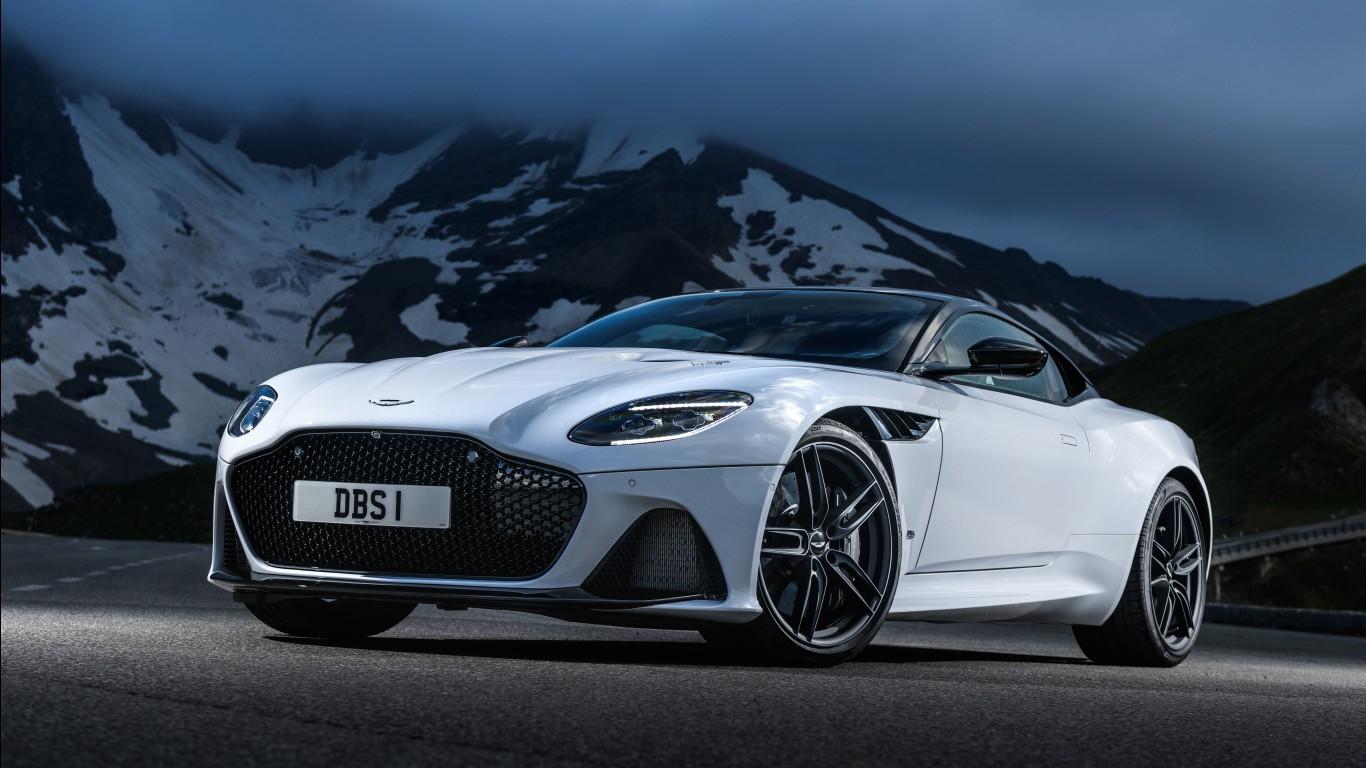 Aston Martin DBS Superleggera 2018 4K Wallpapers HD
