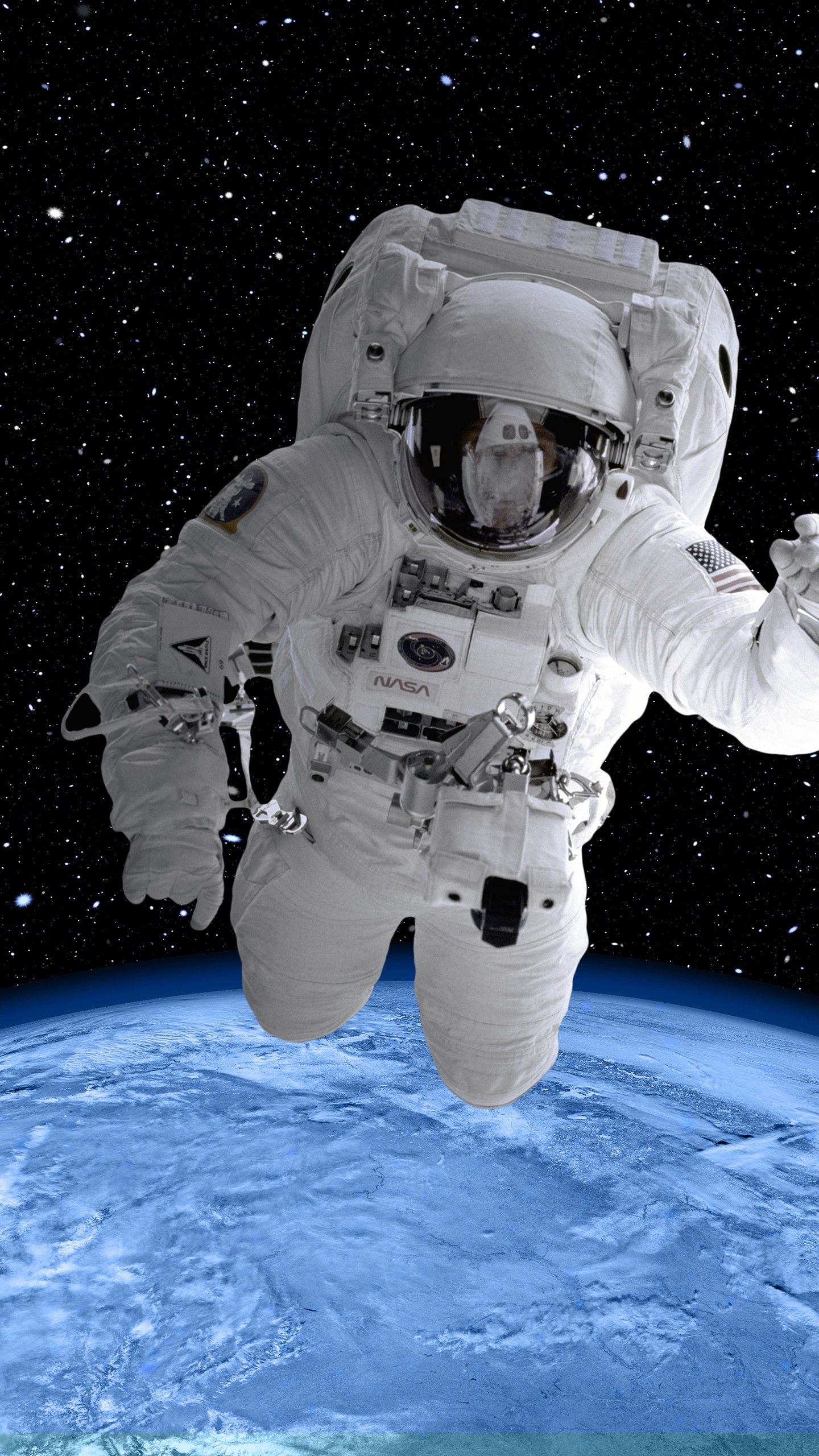 Wallpapers Hd Iphone 5s Astronaut In Space Suit 4k 8k Wallpapers Hd Wallpapers