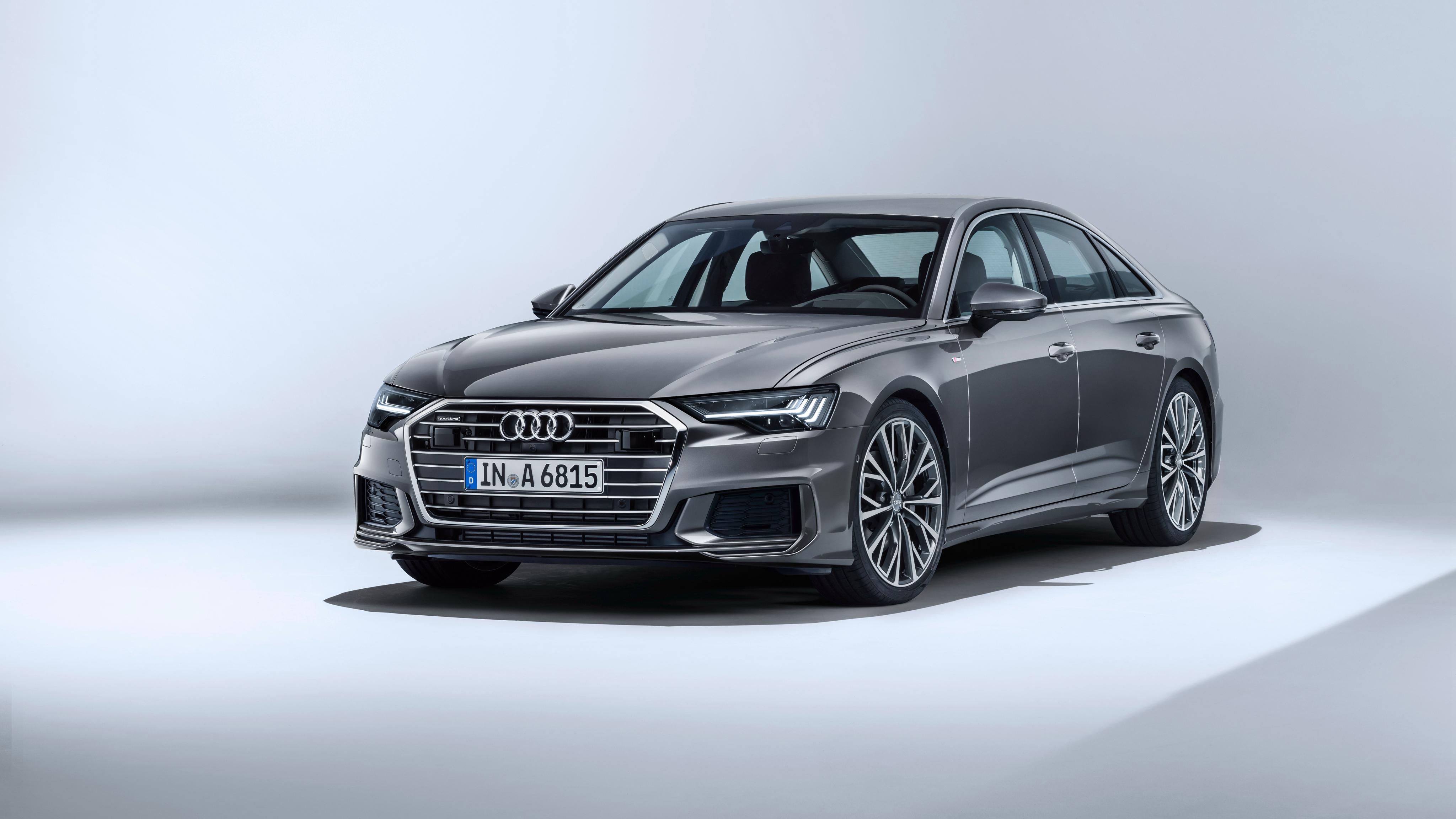 Razor 3d Wallpaper Audi A6 50 Tdi Quattro S Line 2018 4k Wallpapers Hd
