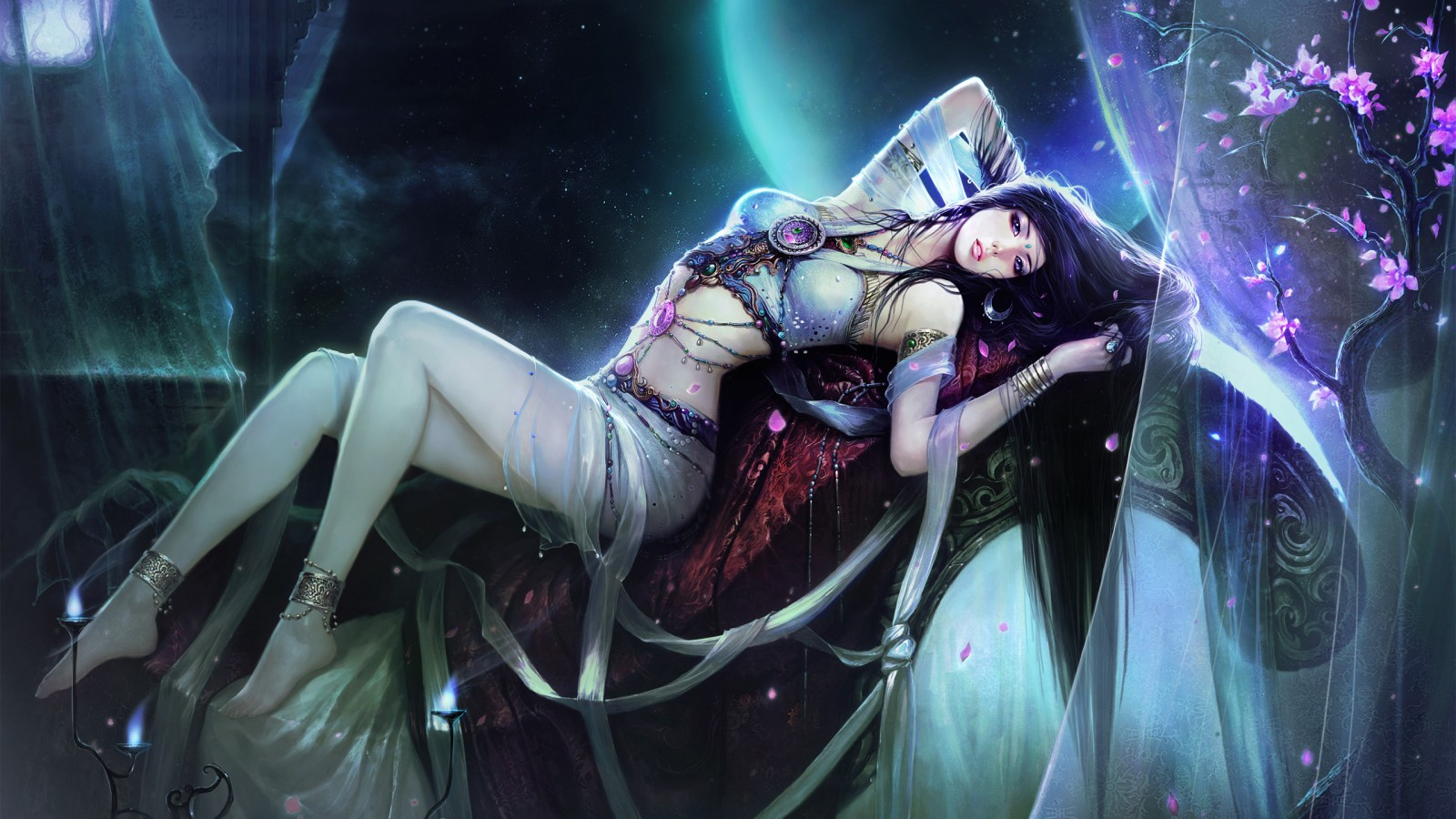 Android 3d Wallpaper Effect Beautiful Fantasy Girl Wallpapers Hd Wallpapers Id 10351