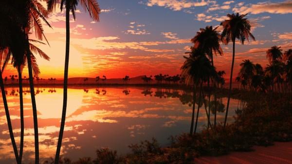 Beautiful Lake Sunset Wallpapers HD Wallpapers ID 18052
