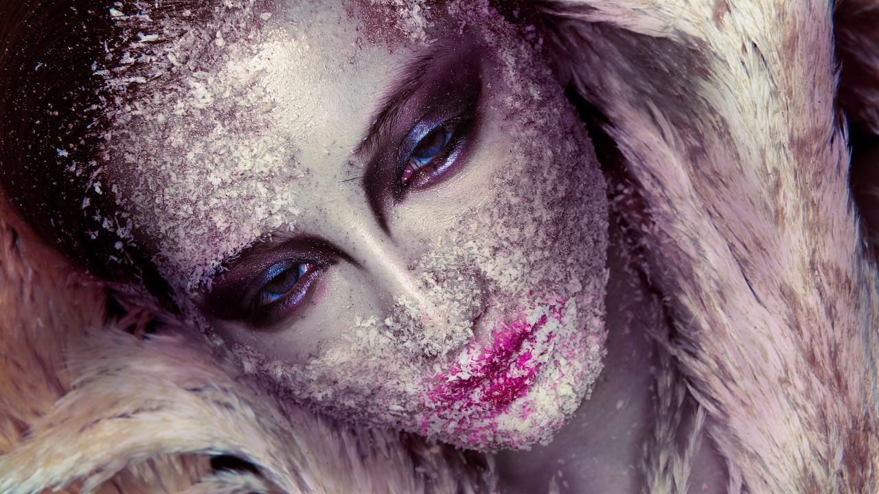 Stylish Girl Wallpaper For Iphone Beautiful Makeup Girl Face Art Wallpapers Hd Wallpapers