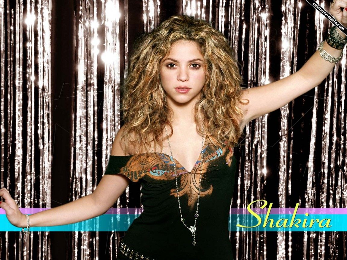 Shakira 3d Wallpaper Beautiful Shakira Wallpapers Hd Wallpapers Id 7746