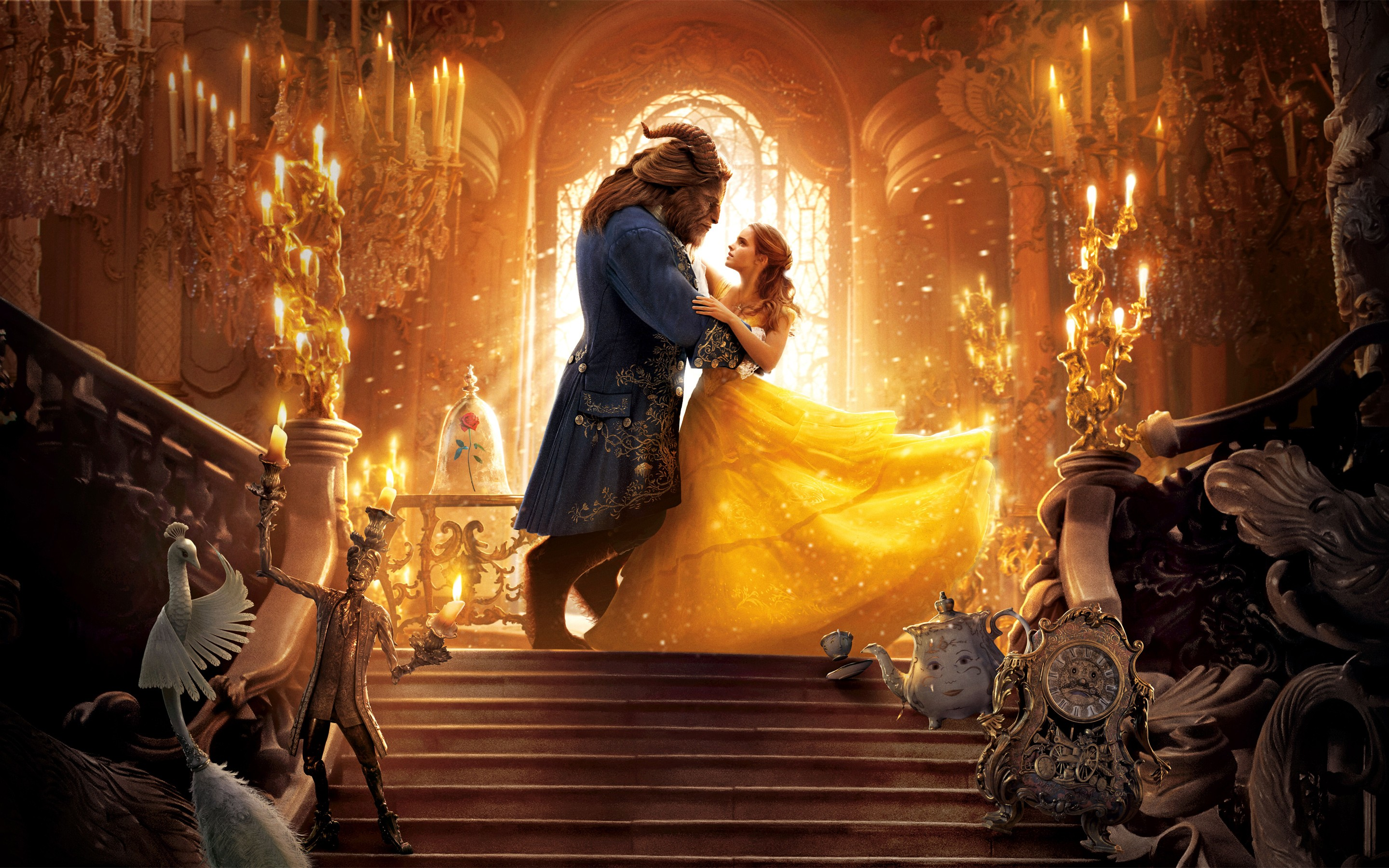 Beauty and the Beast Movie 4K 8K Wallpapers  HD Wallpapers  ID 19769