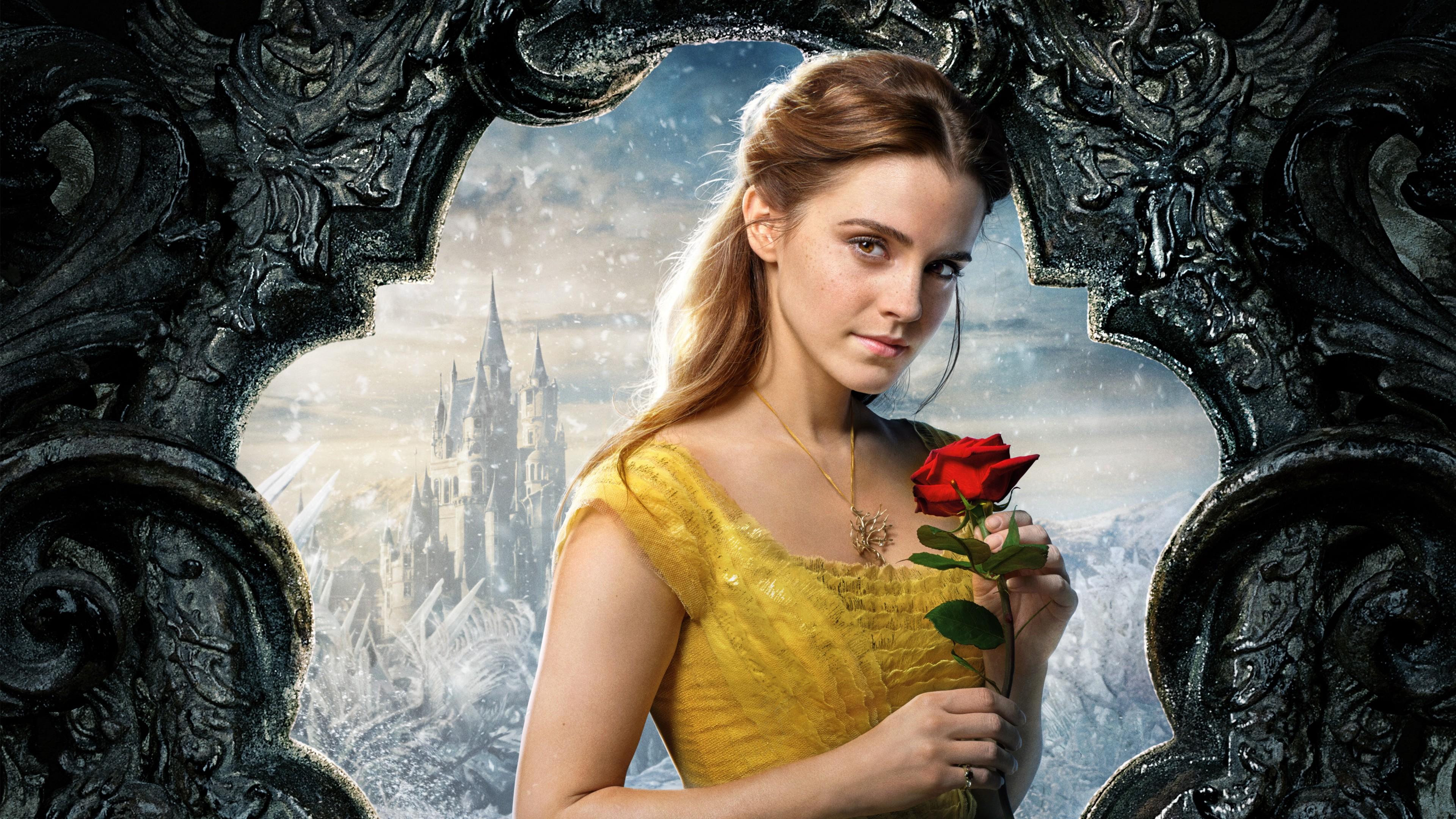 Last Jedi Wallpaper Iphone X Belle Beauty And The Beast Emma Watson 5k Wallpapers Hd