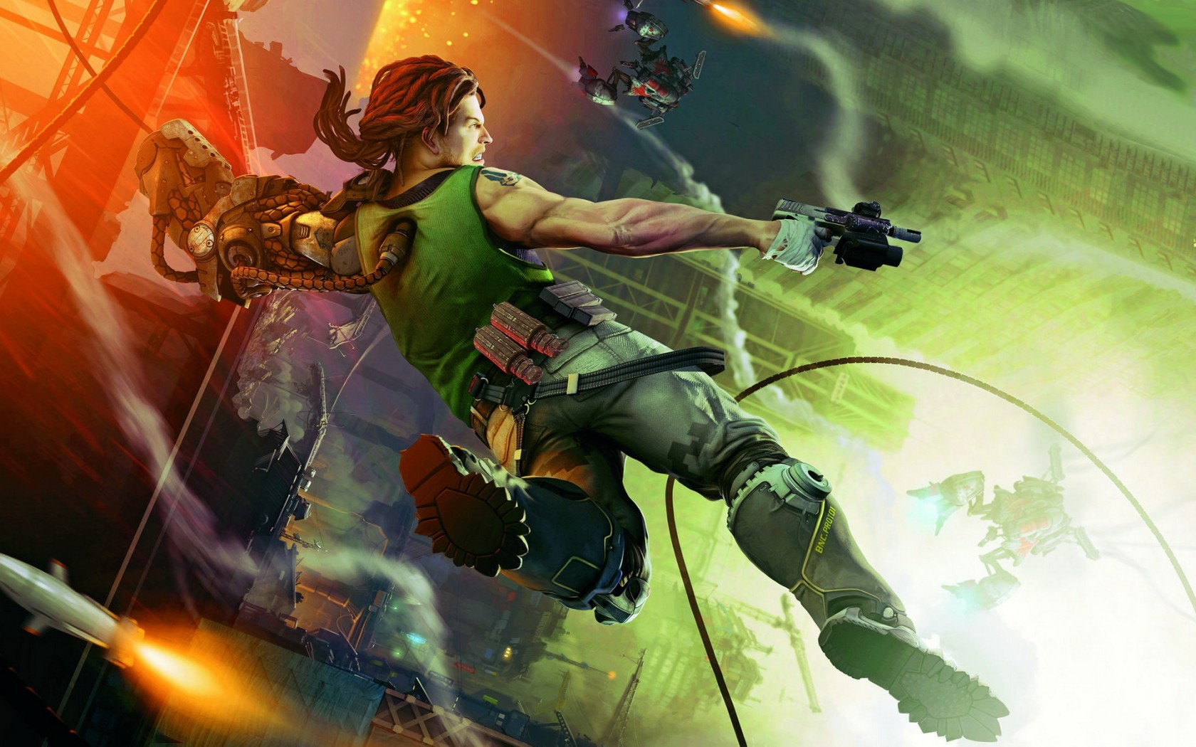 Hd Cute Wallpapers 1080p Bionic Commando 3 Wallpapers Hd Wallpapers Id 9666
