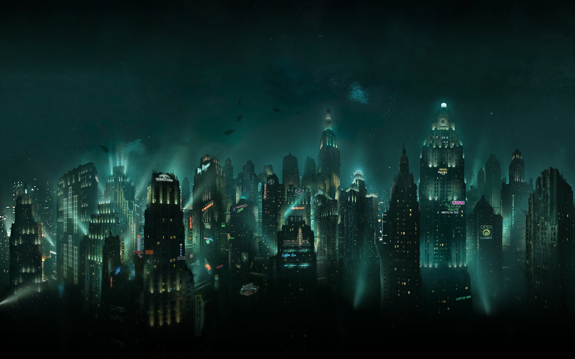 1920x1080 Wallpaper Abstract 3d Bioshock Rapture Wallpapers Hd Wallpapers Id 11791
