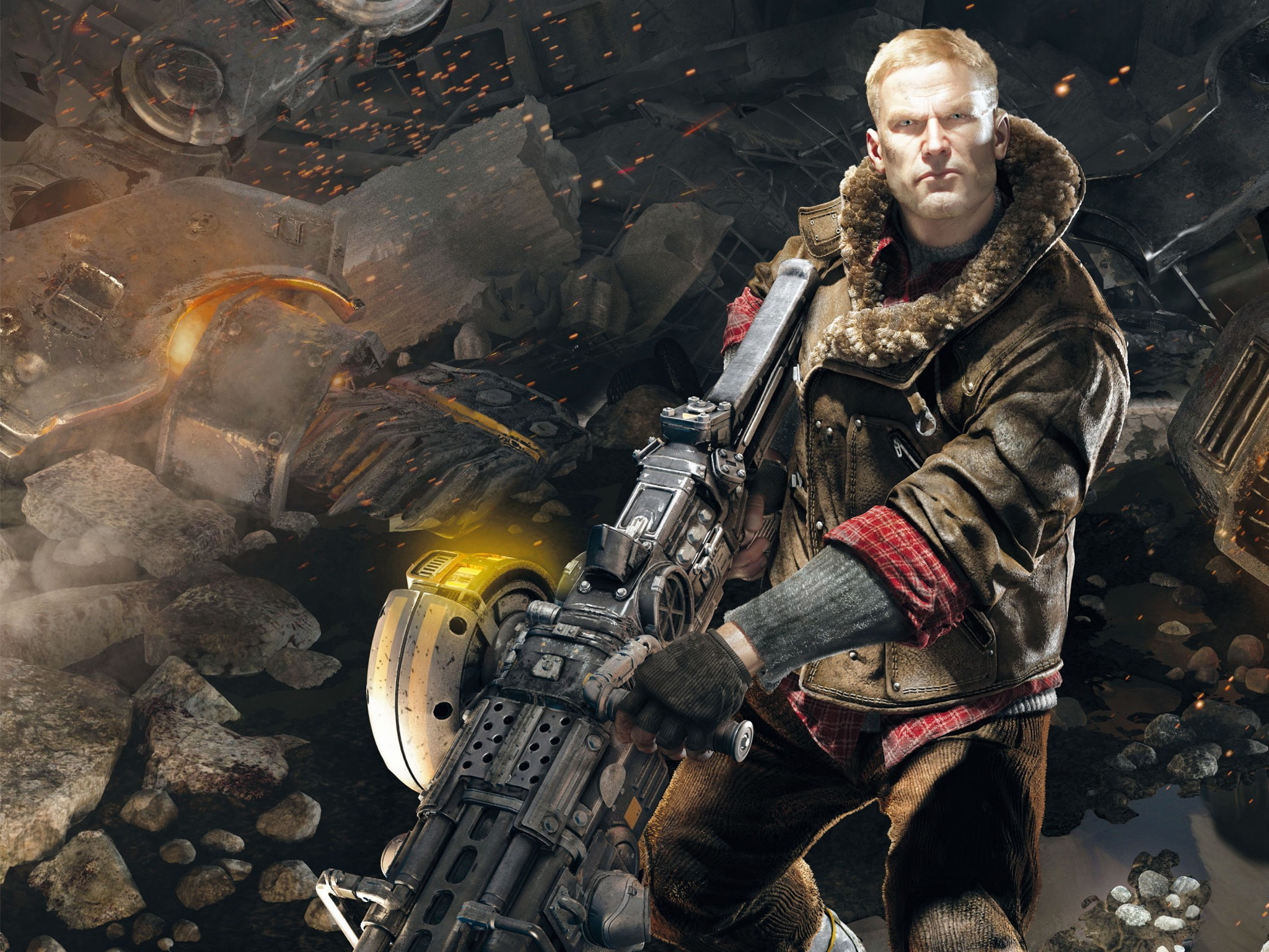 Fall Out 4 Hd Wallpapers Bj Blazkowicz In Wolfenstein The New Order Wallpapers Hd