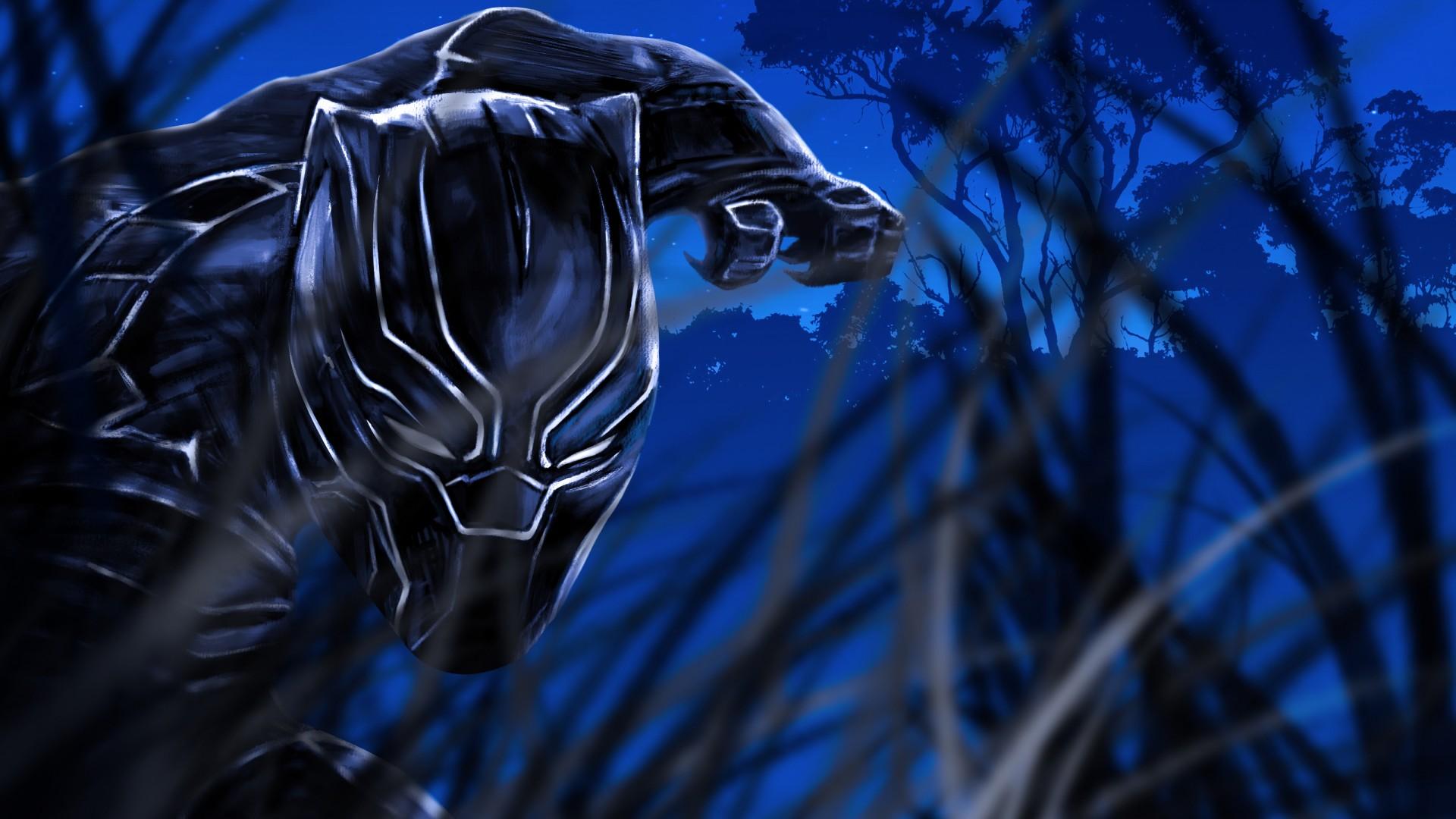 Apple Iphone X Wallpaper Download Black Panther Fan Art Wallpapers Hd Wallpapers Id 26693