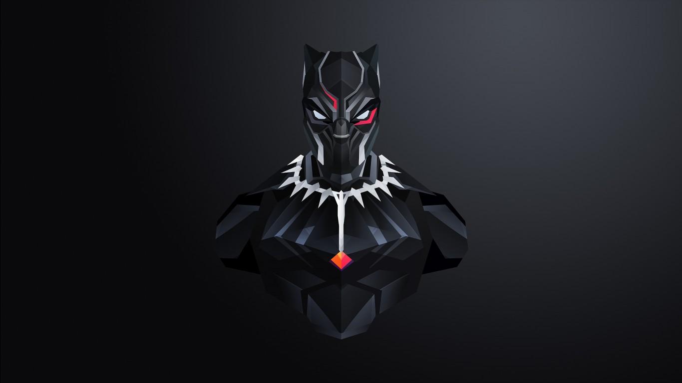 Luxury Iphone Wallpaper Black Panther Minimal 4k Wallpapers Hd Wallpapers Id