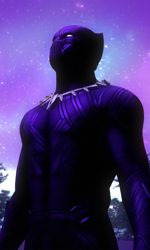 Supernatural Iphone Wallpaper Black Panther Purple Suit 4k Wallpapers Hd Wallpapers