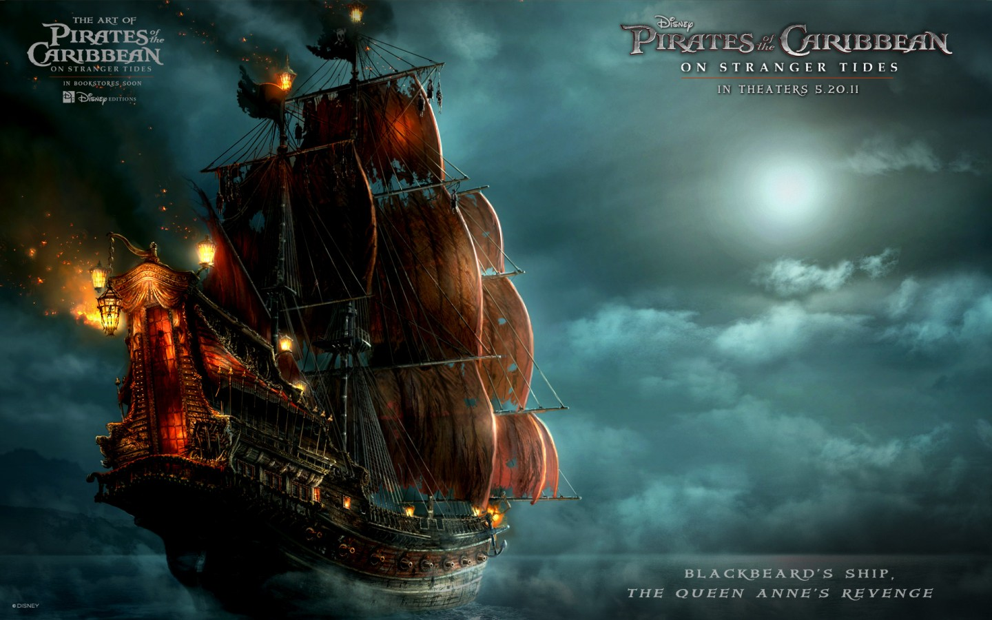 Abstract Iphone 5 Wallpaper Hd Blackbeard S Ship In Pirates Of The Caribbean 4 Wallpapers