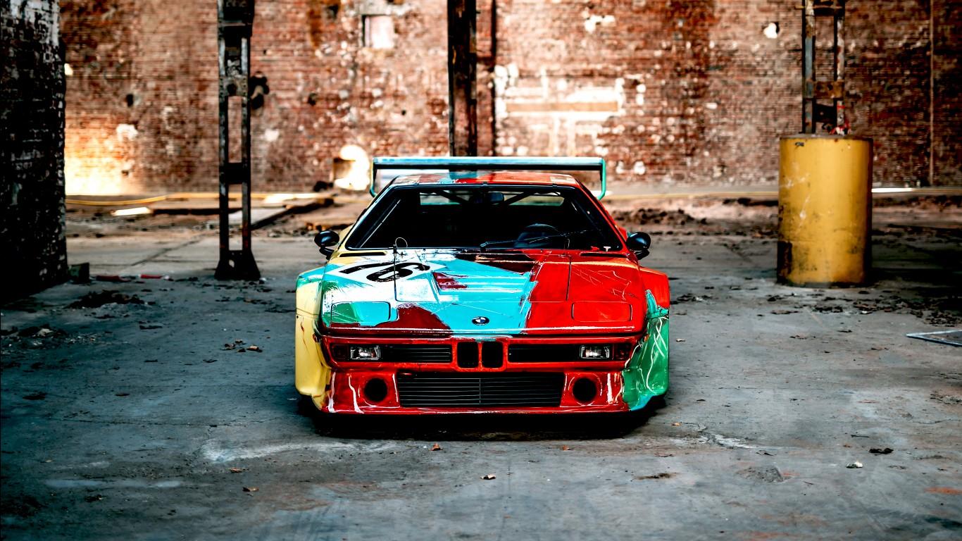 Qhd Car Wallpapers Bmw M1 Group 4 Rennversion Art Car By Andy Warhol