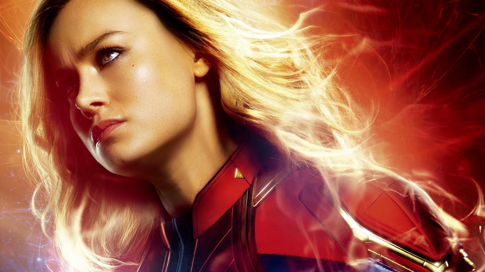 3d Apple Wallpaper Hd 1080p Download Brie Larson As Captain Marvel 4k 8k Wallpapers Hd