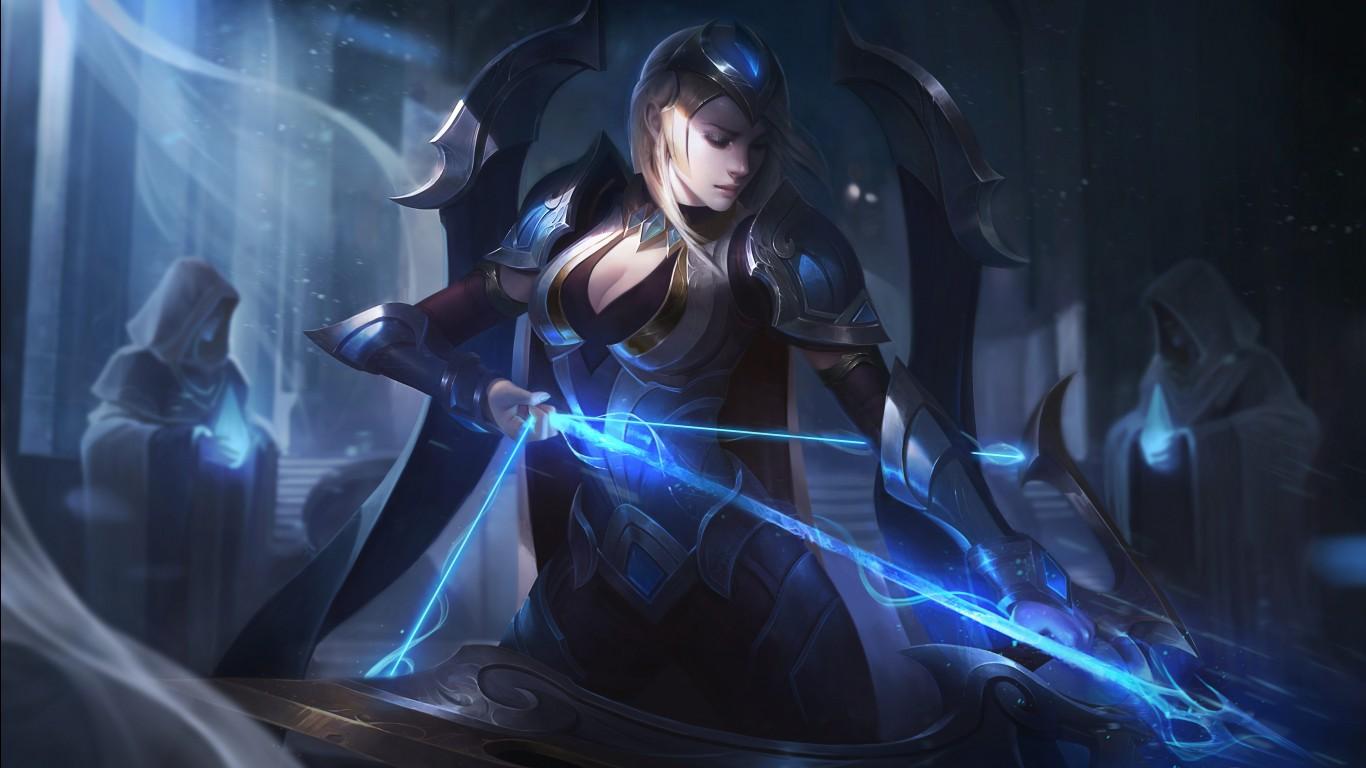 Sad Girl Death Wallpaper Championship Ashe League Of Legends Wallpapers Hd