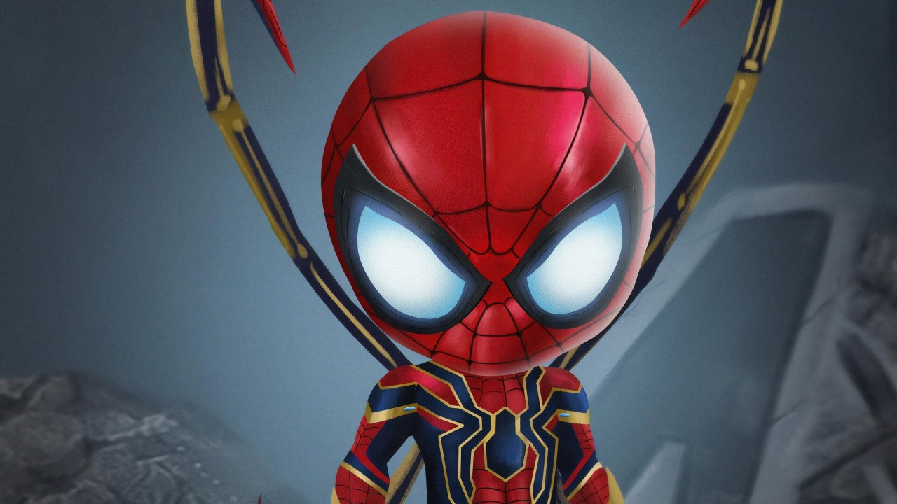 Cute Baby Wallpaper Download Hd Chibi Spiderman 4k Wallpapers Hd Wallpapers Id 29171