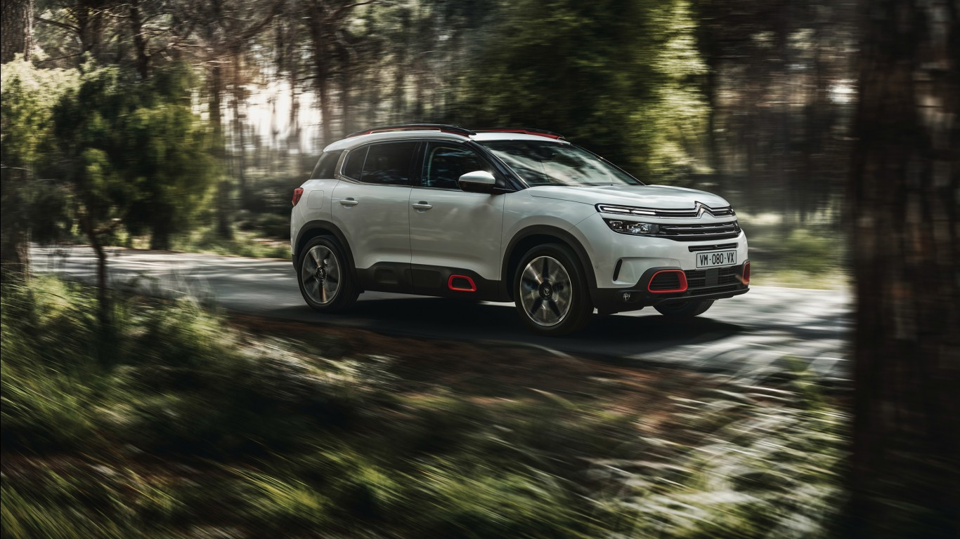 Iphone Wallpapers Concept Cars Citroen C5 Aircross 2018 Wallpapers Hd Wallpapers Id