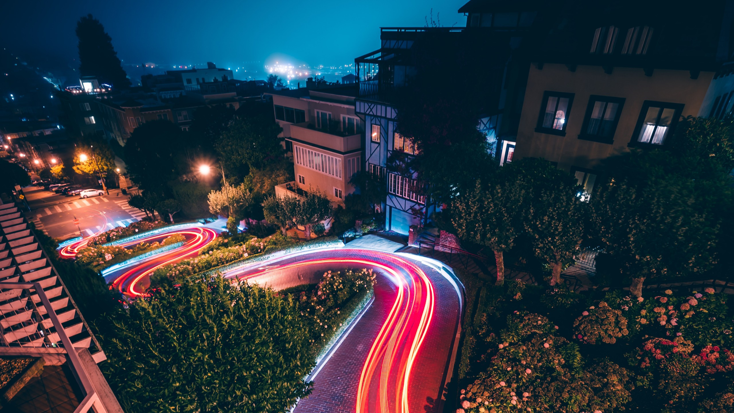 Cute Wallpaper For Iphone 6 Hd City Night Traffic Lights 4k Wallpapers Hd Wallpapers