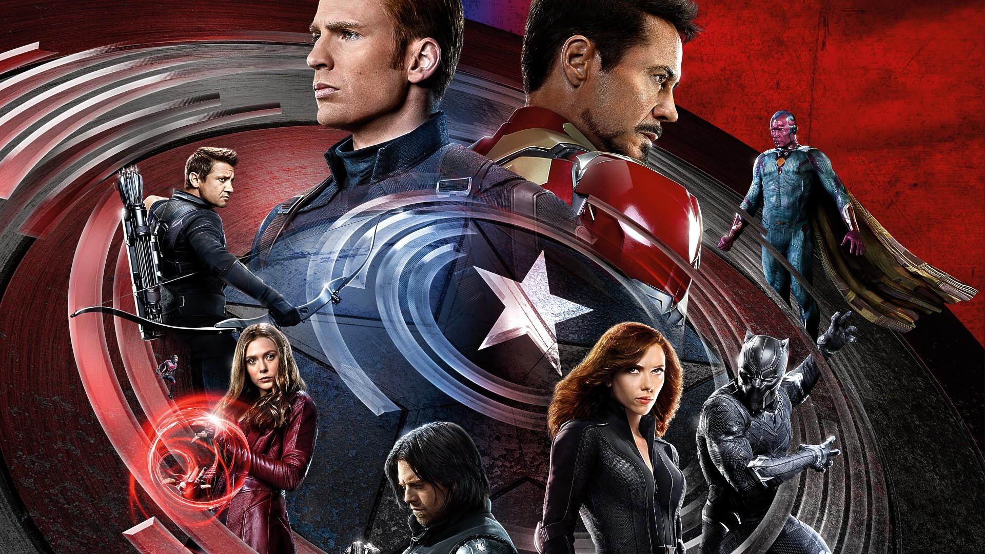 Iphone 6 Plus Wallpaper Cute Civil War Captain America Iron Man Wallpapers Hd