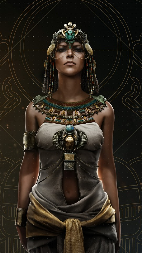 Full Hd Wallpapers For Iphone 4 Cleopatra Assassins Creed Origins 4k 8k Wallpapers Hd