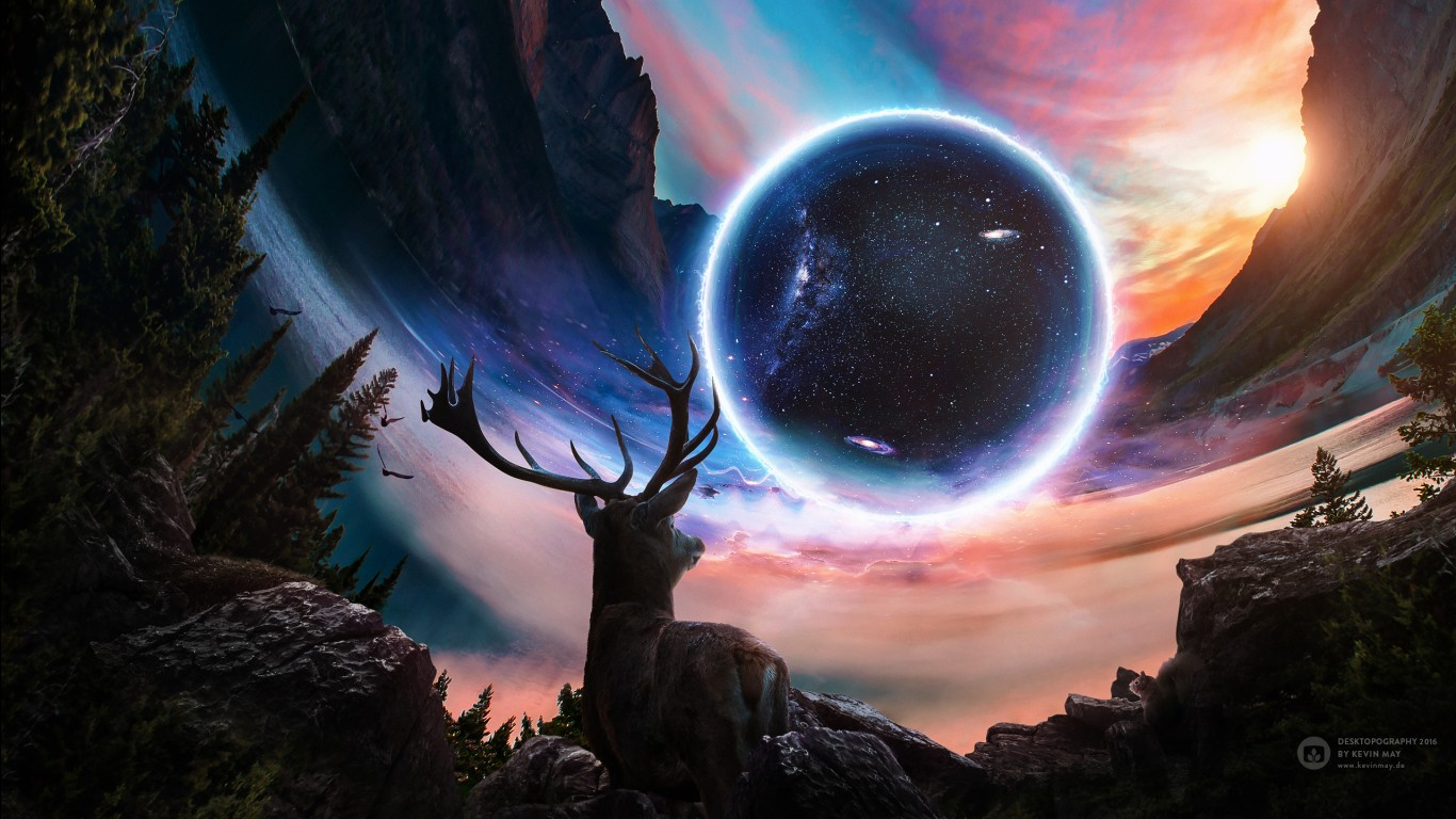 Final Fantasy Wallpaper Iphone X Close Planet Deer Wallpapers Hd Wallpapers Id 19448