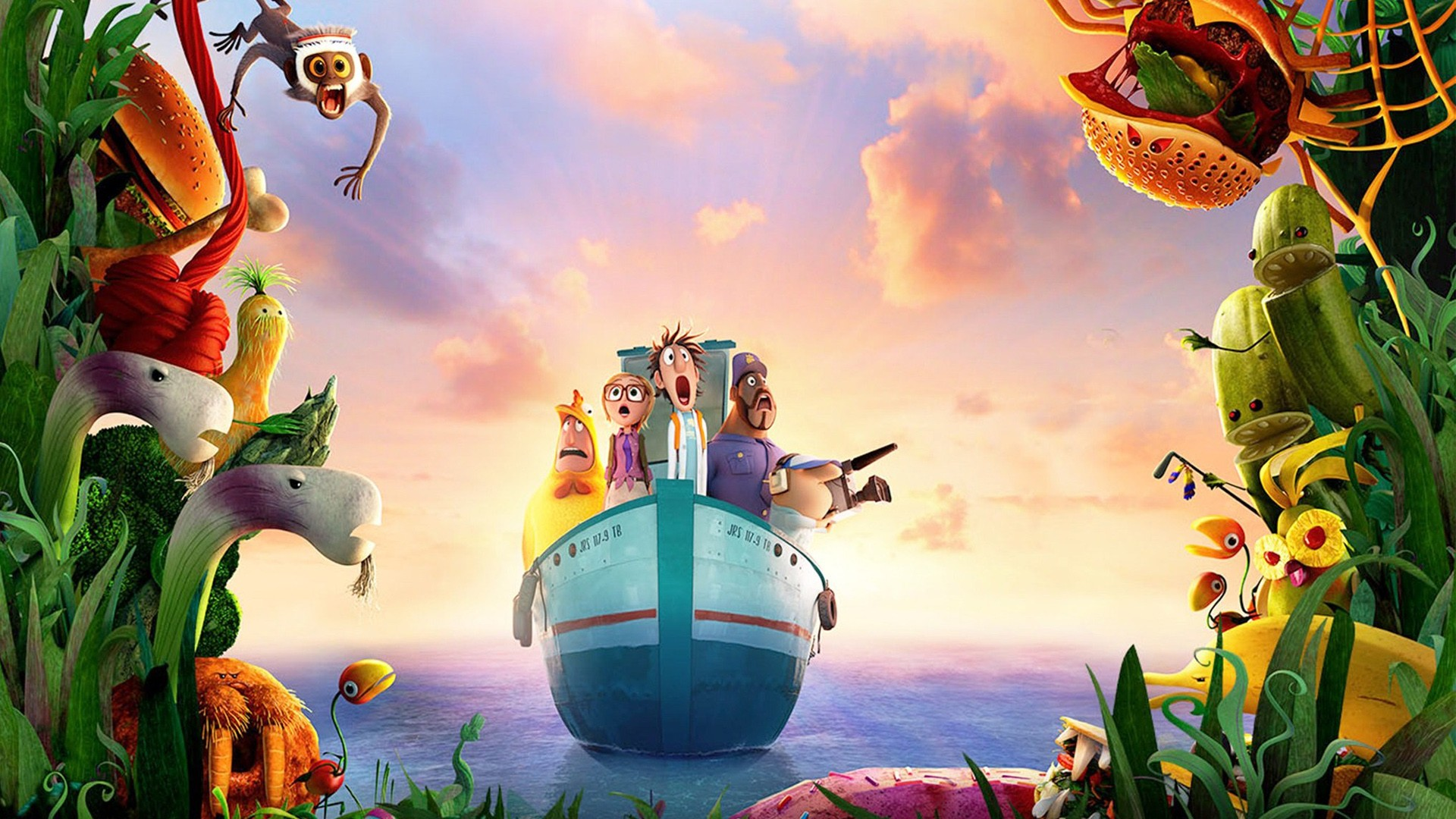 Fruit Wallpapers Cute Cloudy With A Chance Of Meatballs 2 Movie Wallpapers Hd