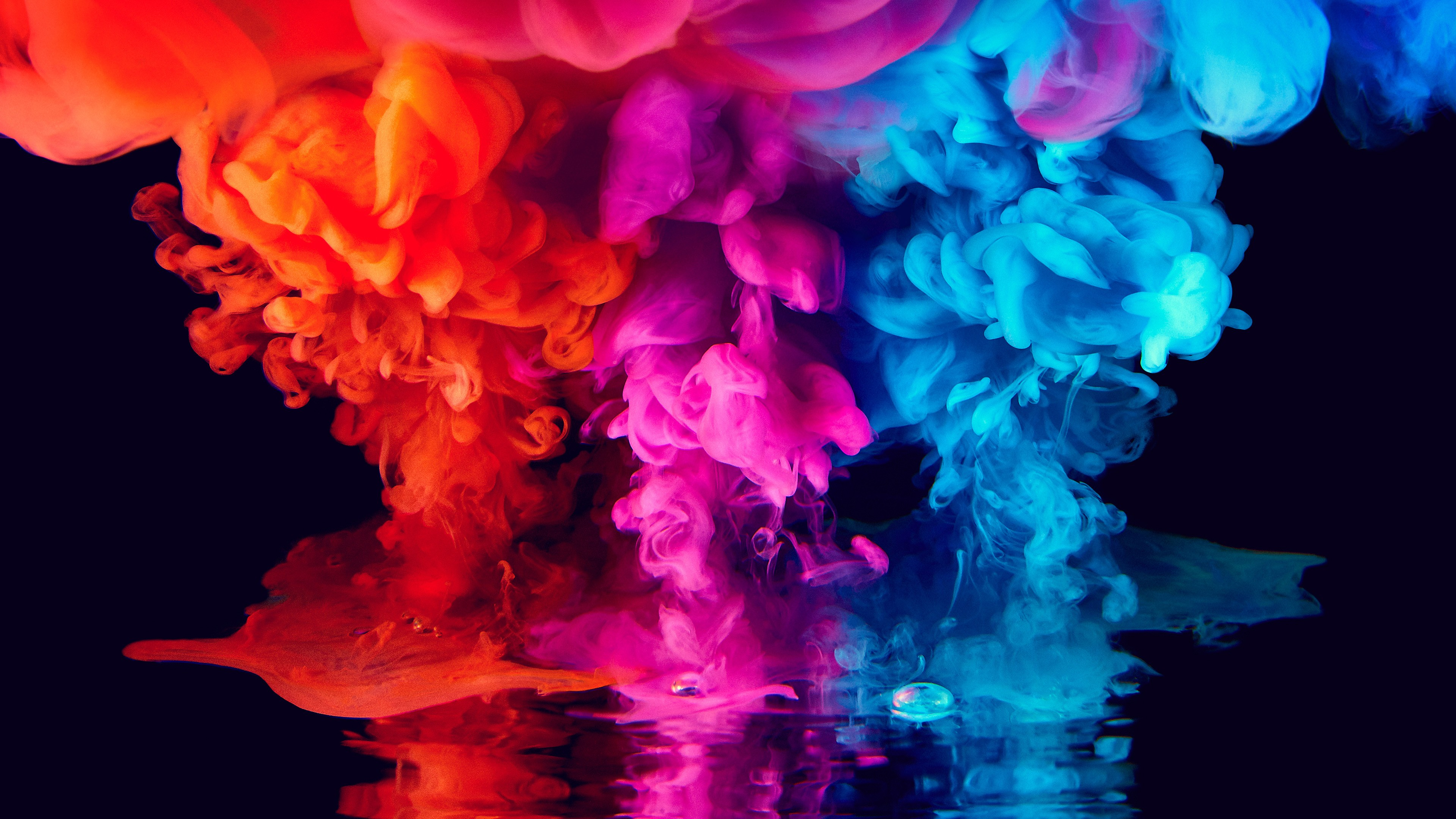 Cute Colour Wallpaper Colorful Smoke 4k Wallpapers Hd Wallpapers Id 27972
