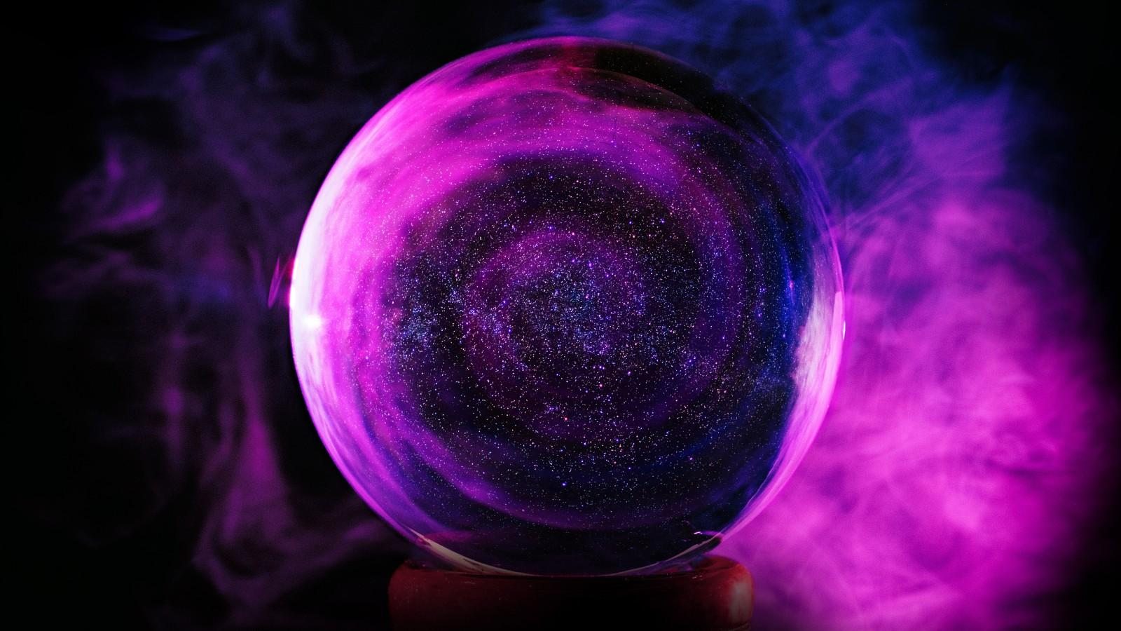 Smoke Wallpaper Iphone X Crystal Ball Purple Smoke 5k Wallpapers Hd Wallpapers