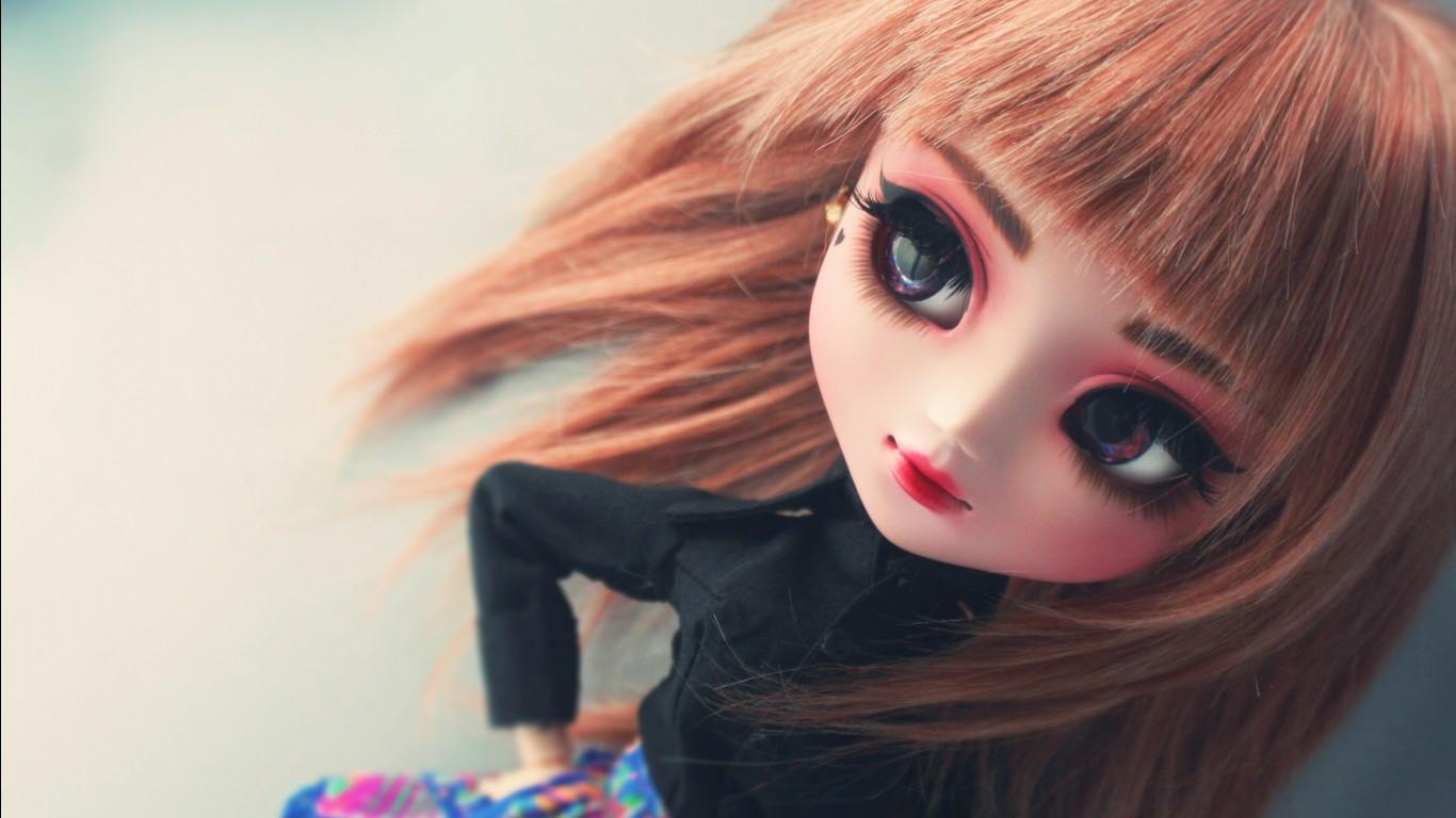 Kawaii Girl Wallpaper Cute Girly Doll 4k Wallpapers Hd Wallpapers Id 27244