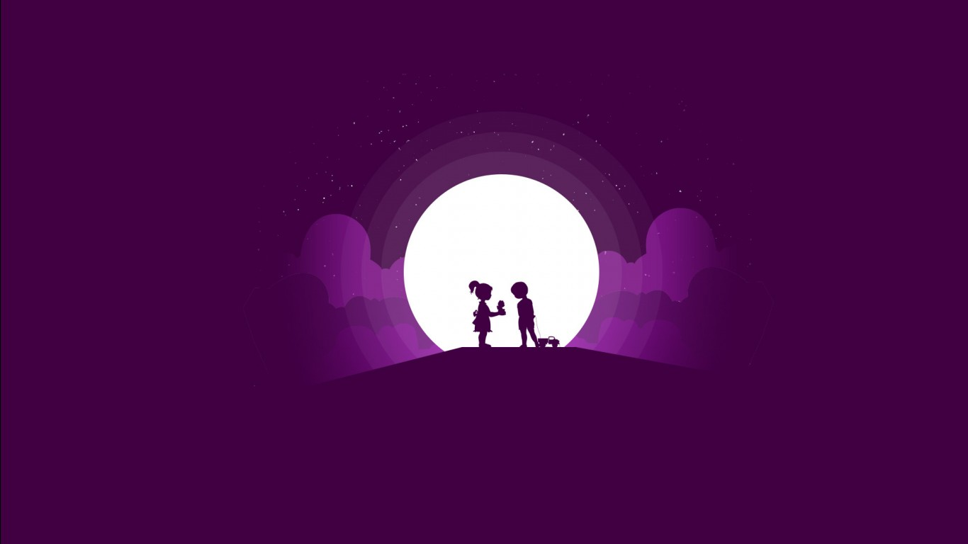 Most Cute Baby Wallpaper Cute Silhouette Wallpapers Hd Wallpapers Id 27847