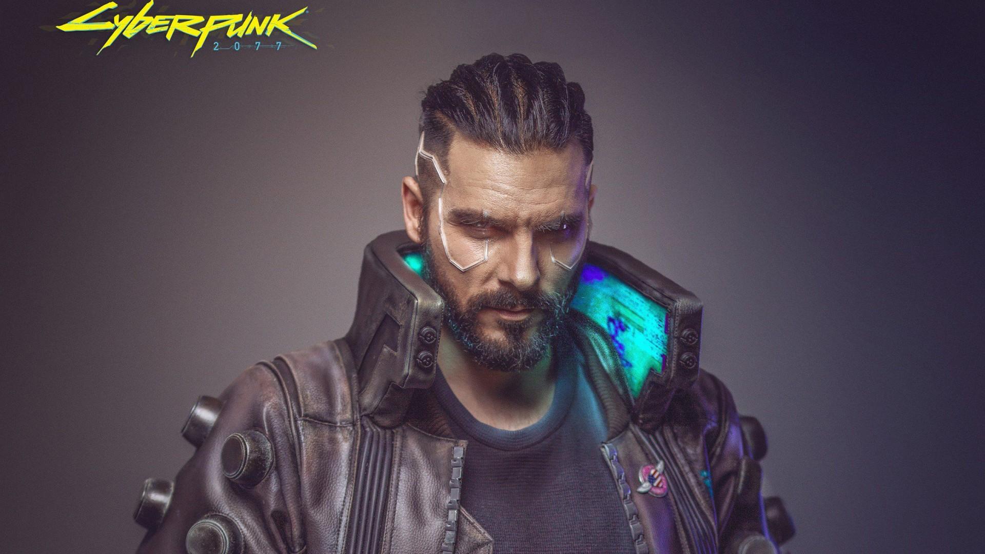 3d Wallpapers Buy Online Cyberpunk 2077 Male Cosplay Wallpapers Hd Wallpapers