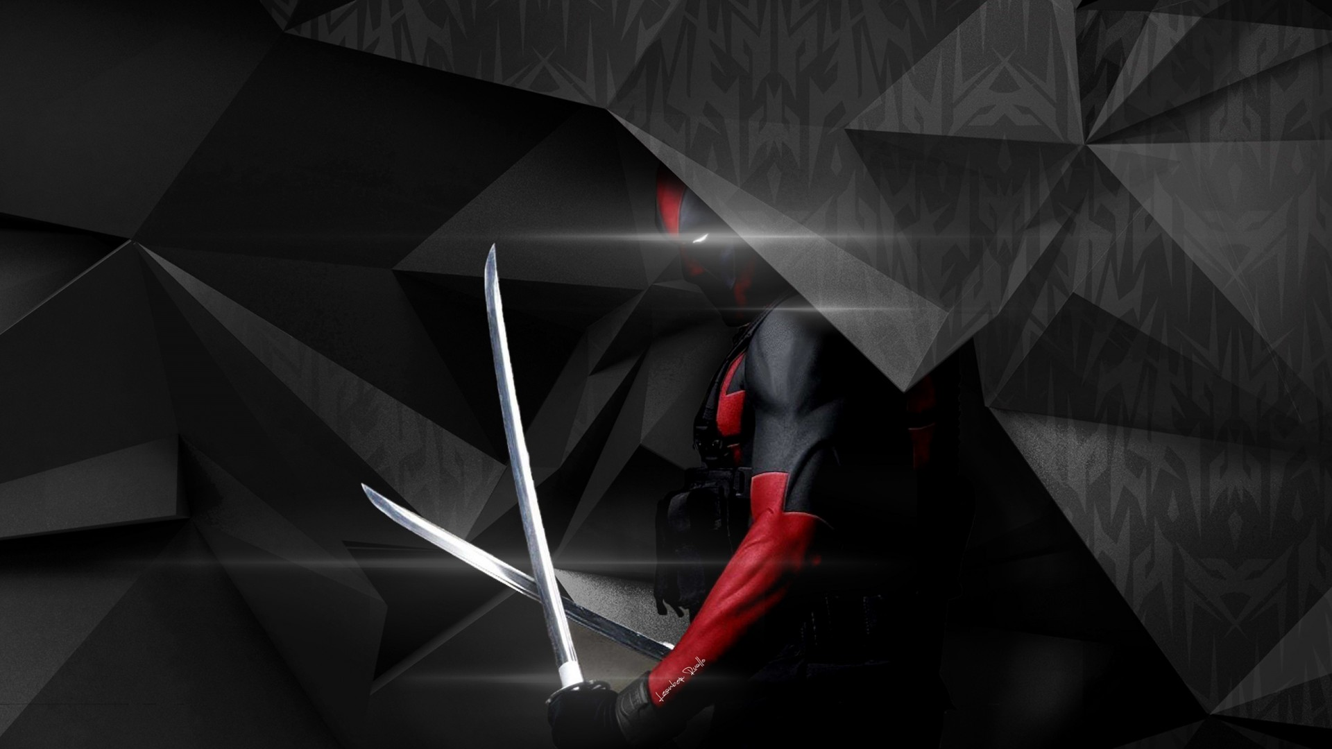 Cute And Cool Wallpapers For Iphone Deadpool Abstract Artwork Wallpapers Hd Wallpapers Id