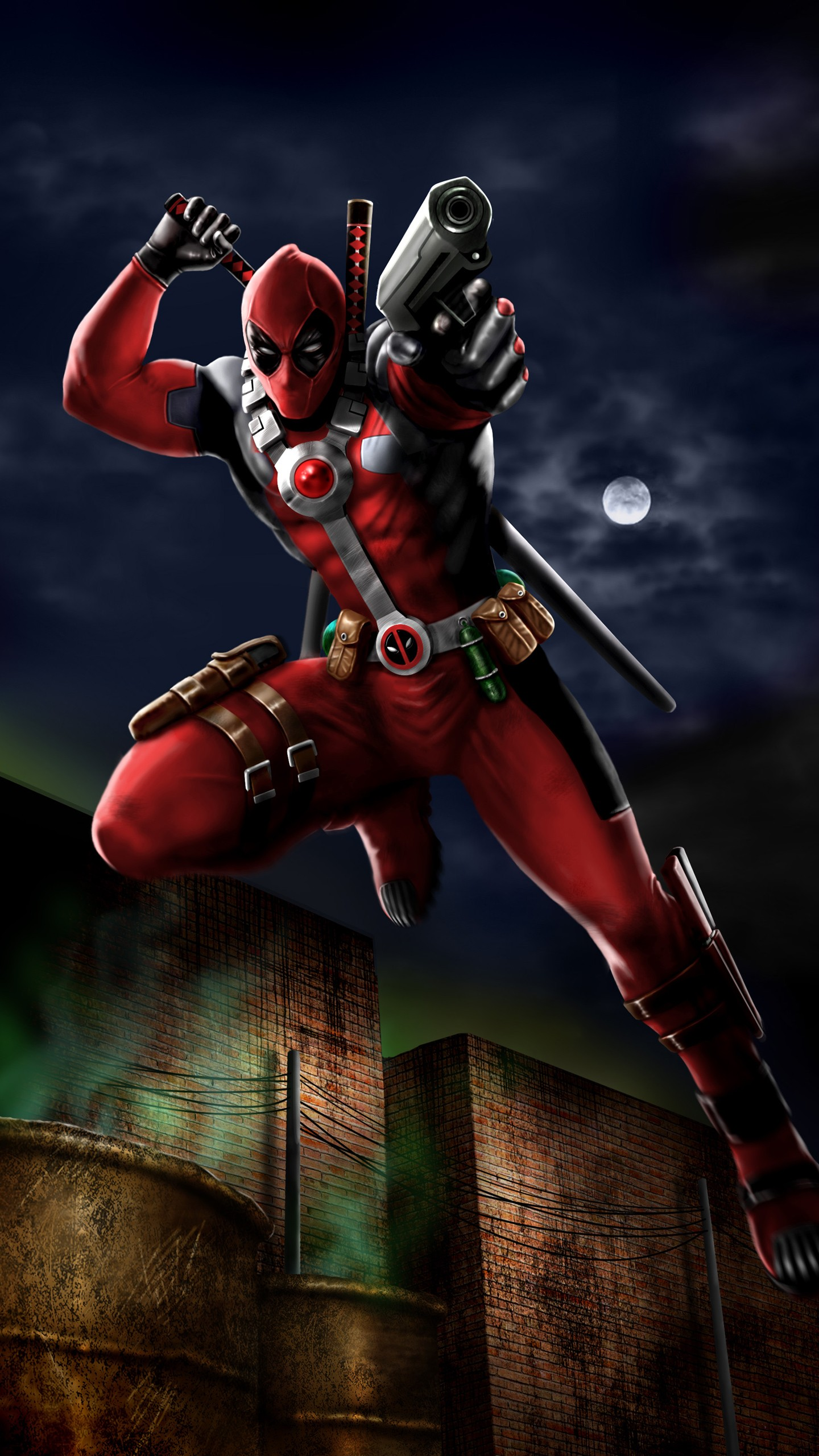 Iphone 6 Plus Hd Wallpapers 1080p Deadpool Speedpaint Wallpapers Hd Wallpapers Id 24119