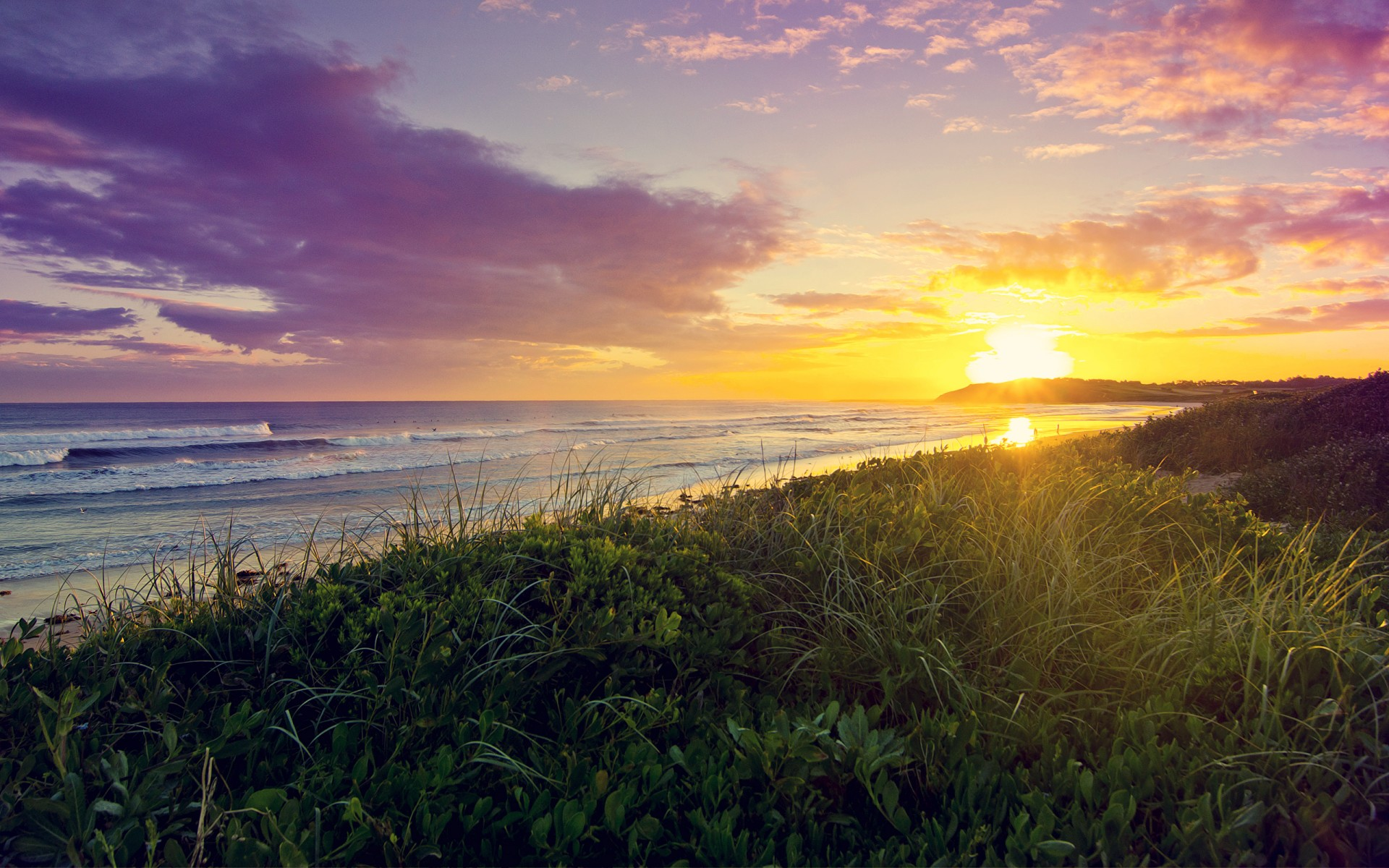 Anime Fall 2015 Wallpaper Dee Why Beach Sunrise Wallpapers Hd Wallpapers Id 14624