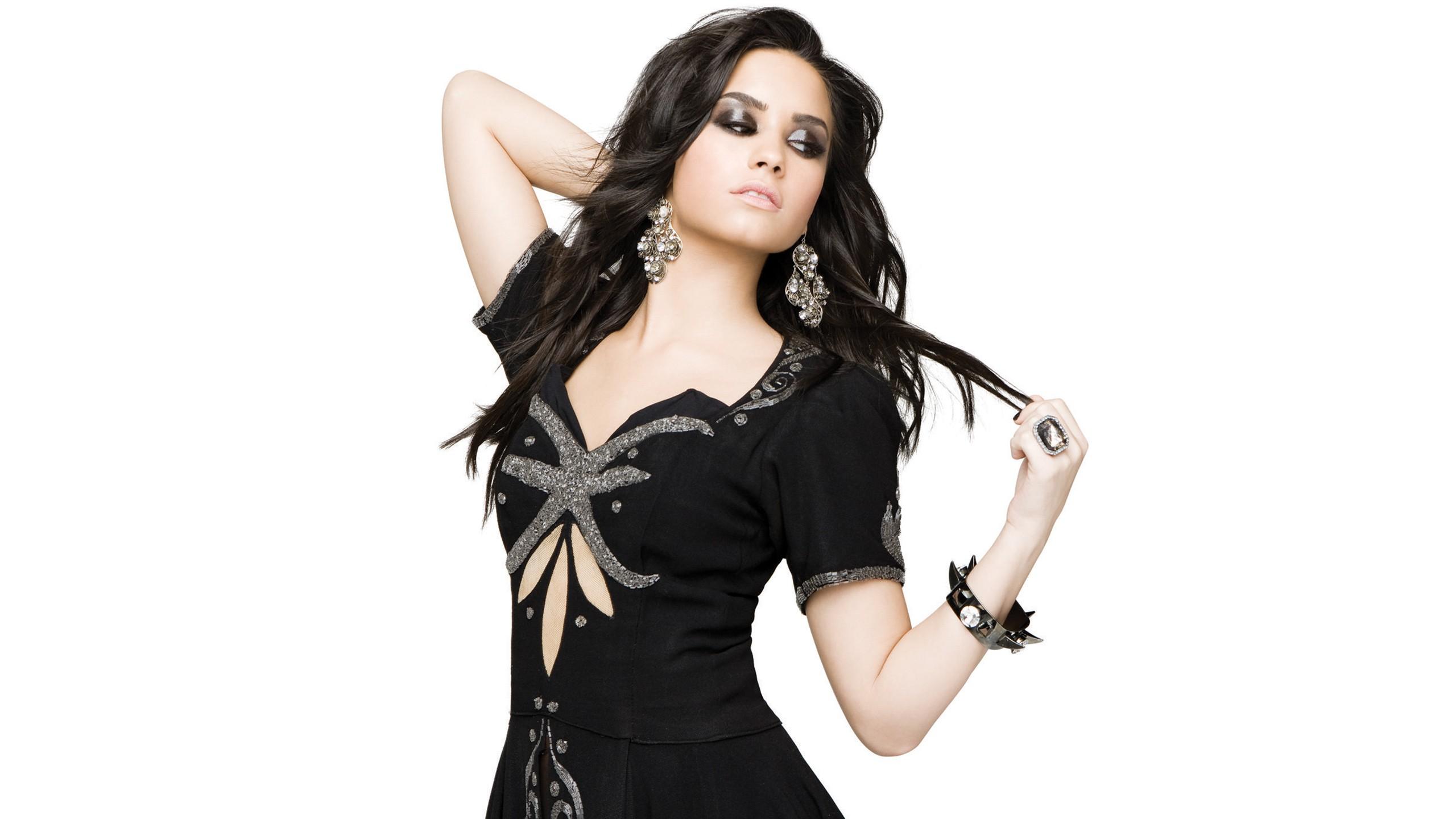 Rock Girl Wallpaper Demi Lovato Wallpapers Hd Wallpapers Id 988