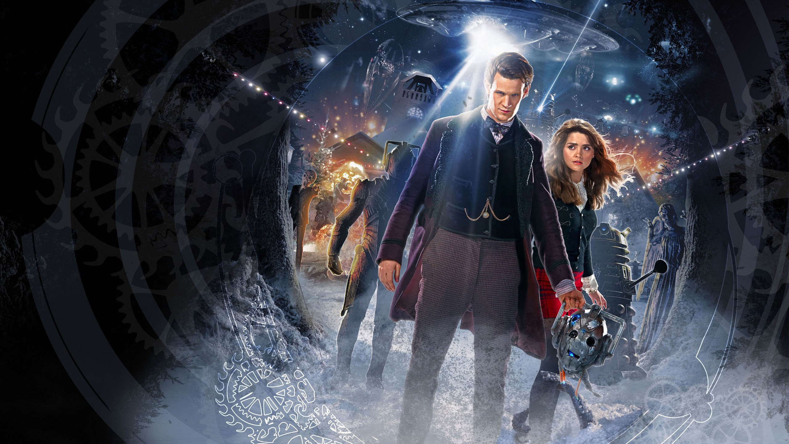 Tardis Iphone 4 Wallpaper Doctor Who Time Of The Doctor Wallpapers Hd Wallpapers